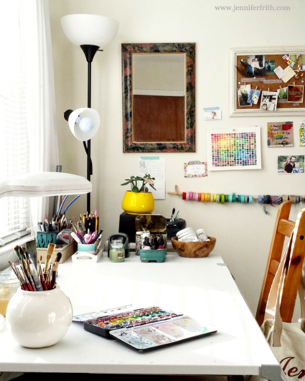 Jennifer_Frith_Artist_Illustrator_Studio_Space