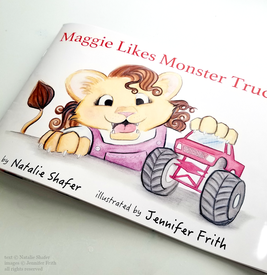 Jennifer Frith Maggie Likes Monster Trucks