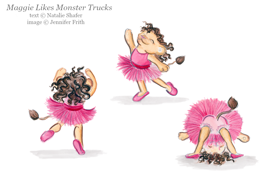 Jennifer Frith Illustrator Maggie Likes Monster Trucks
