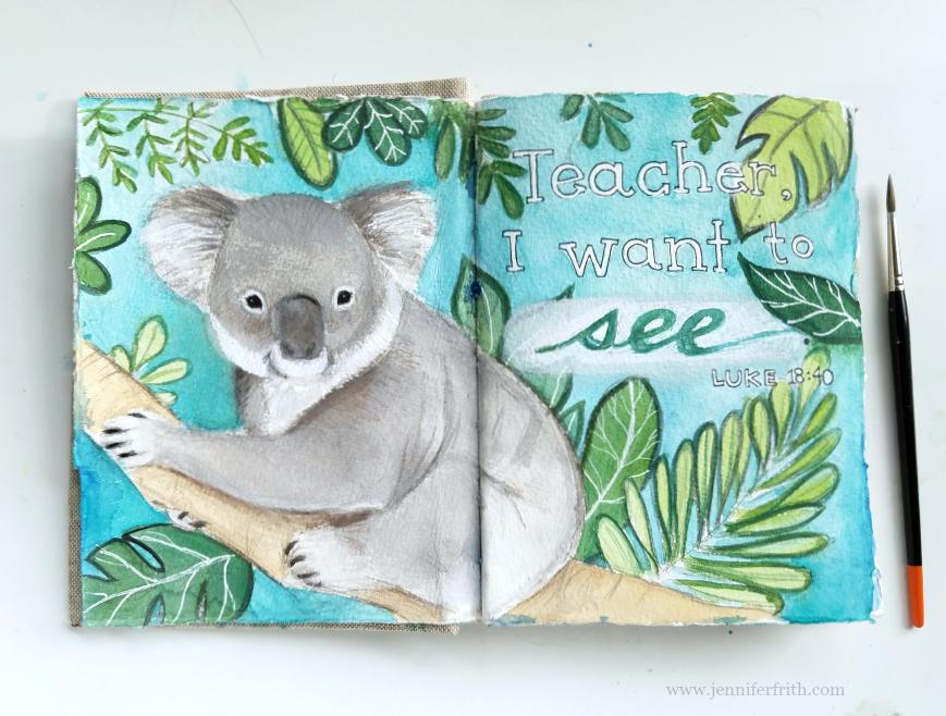 jennifer_frith_journal_page_koala