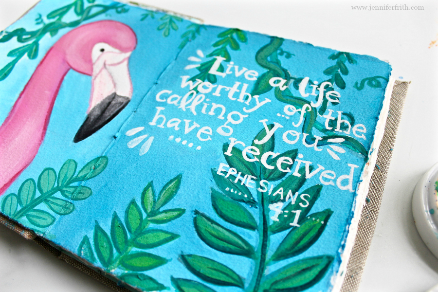 Sunday Sketchbook Pages by Jennifer Frith