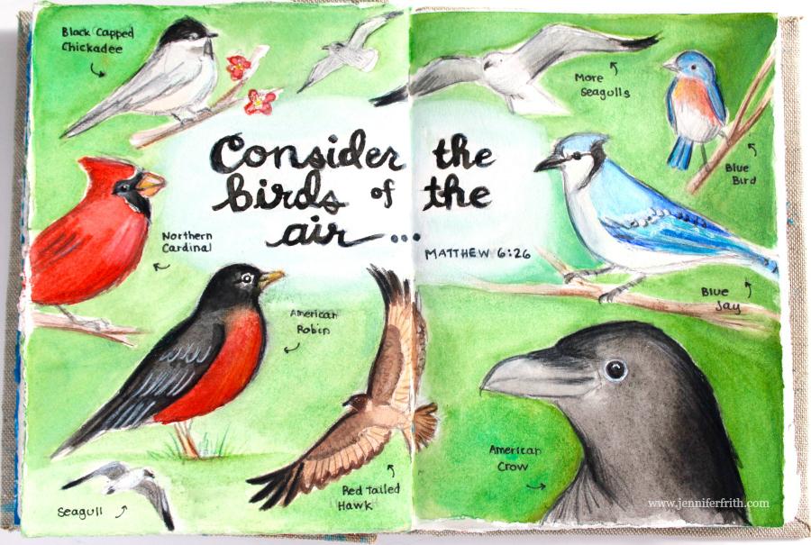 Sunday Sketchbook, by Jennifer Frith
