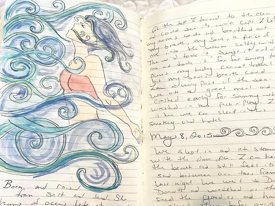 Meet the Artist Interview - Leah Kilcup Journals