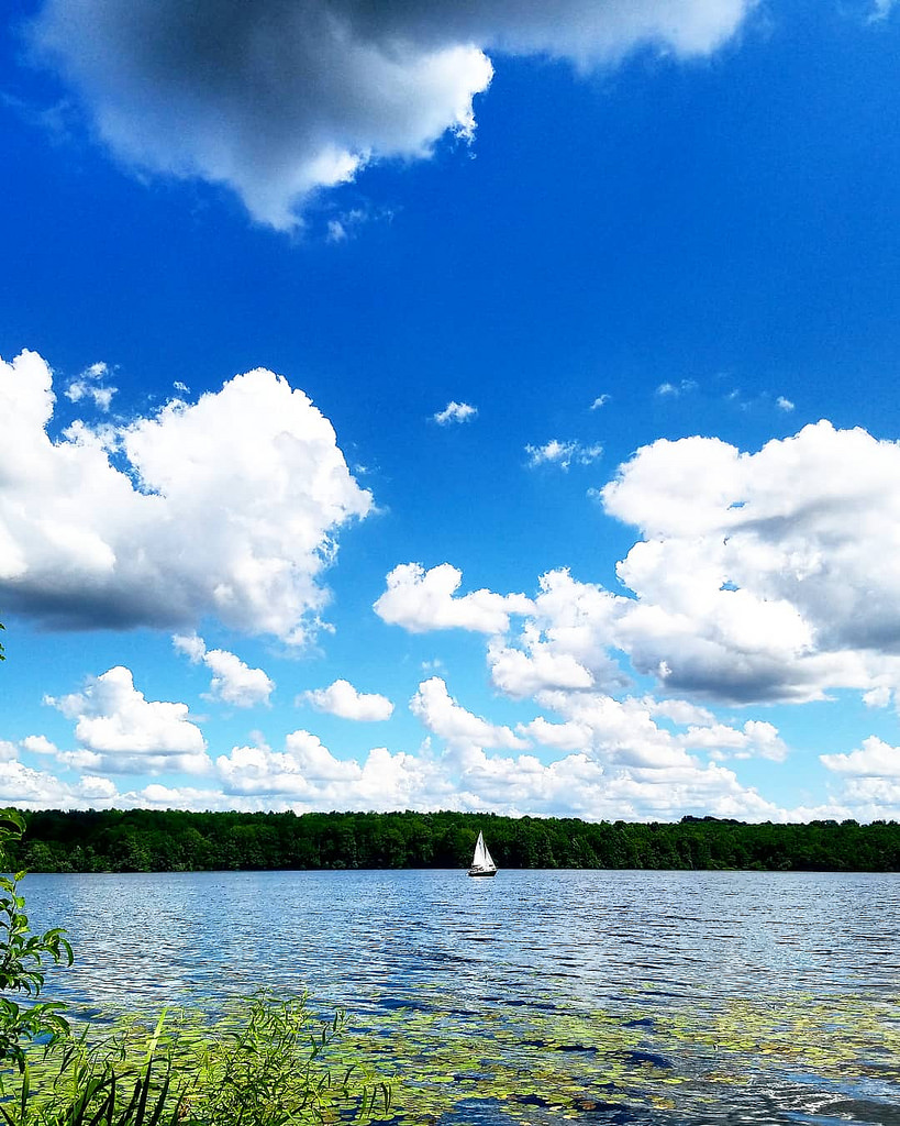 sailboat photo I took last summer at Lake Nockamixon