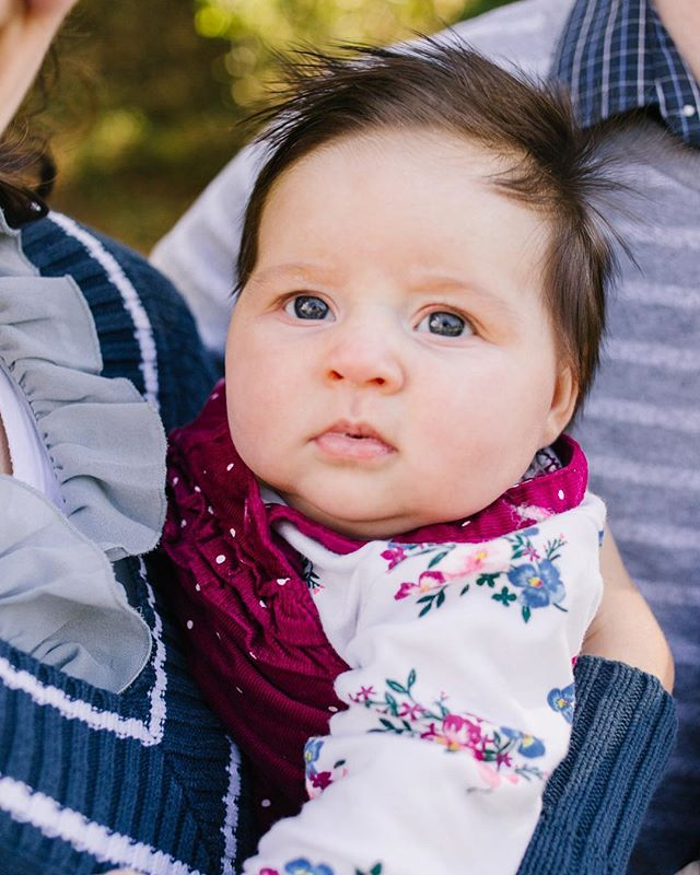 That hair, those eyes, and of course...the cheeks!