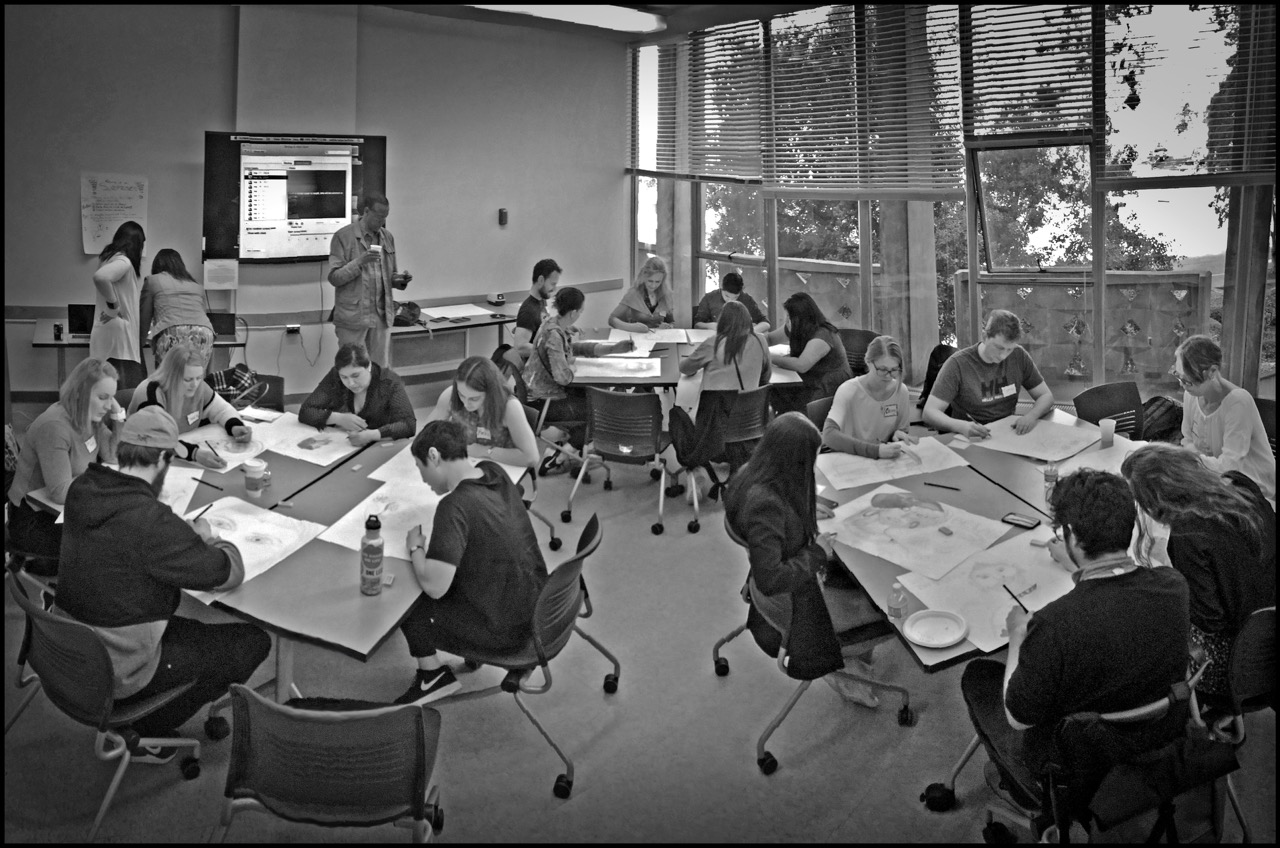 Collaborative Drawing , UC Berkeley School of Education 2017