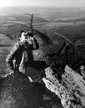 Rachel Carson, photo by Shirley Briggs, 1945.