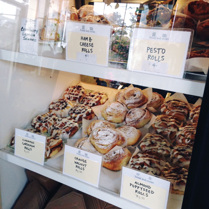 Local Bakery and its provisions. Yum.