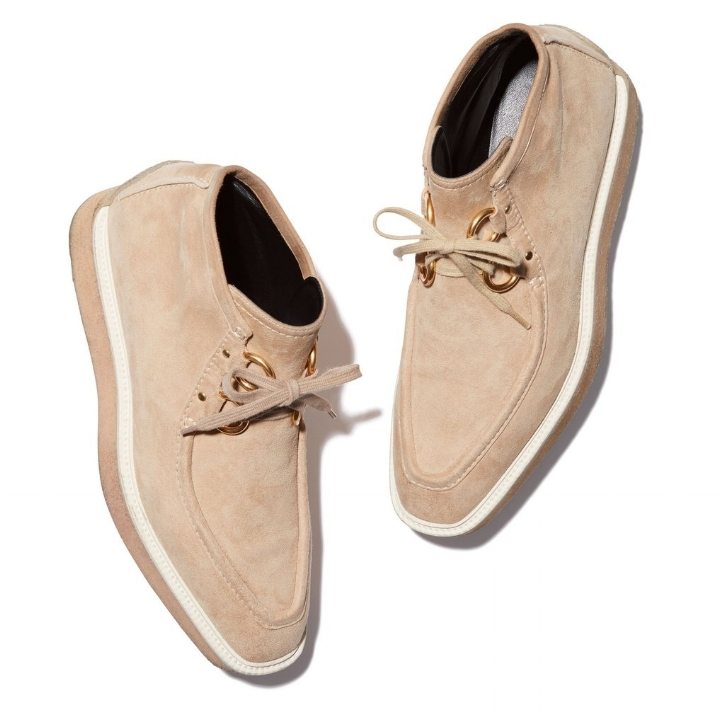 Stella McCartney Desert Boots  for drier climes at wintertime.