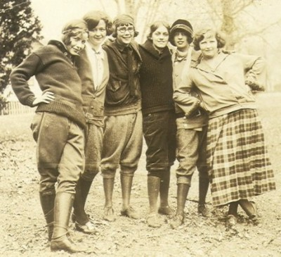 Hikers in Minnesota, 1924. Image: unknown.
