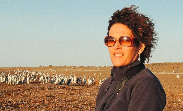 Regina Ribeiro in a photo from Bret Love's interview of her on the  International Expeditions site.