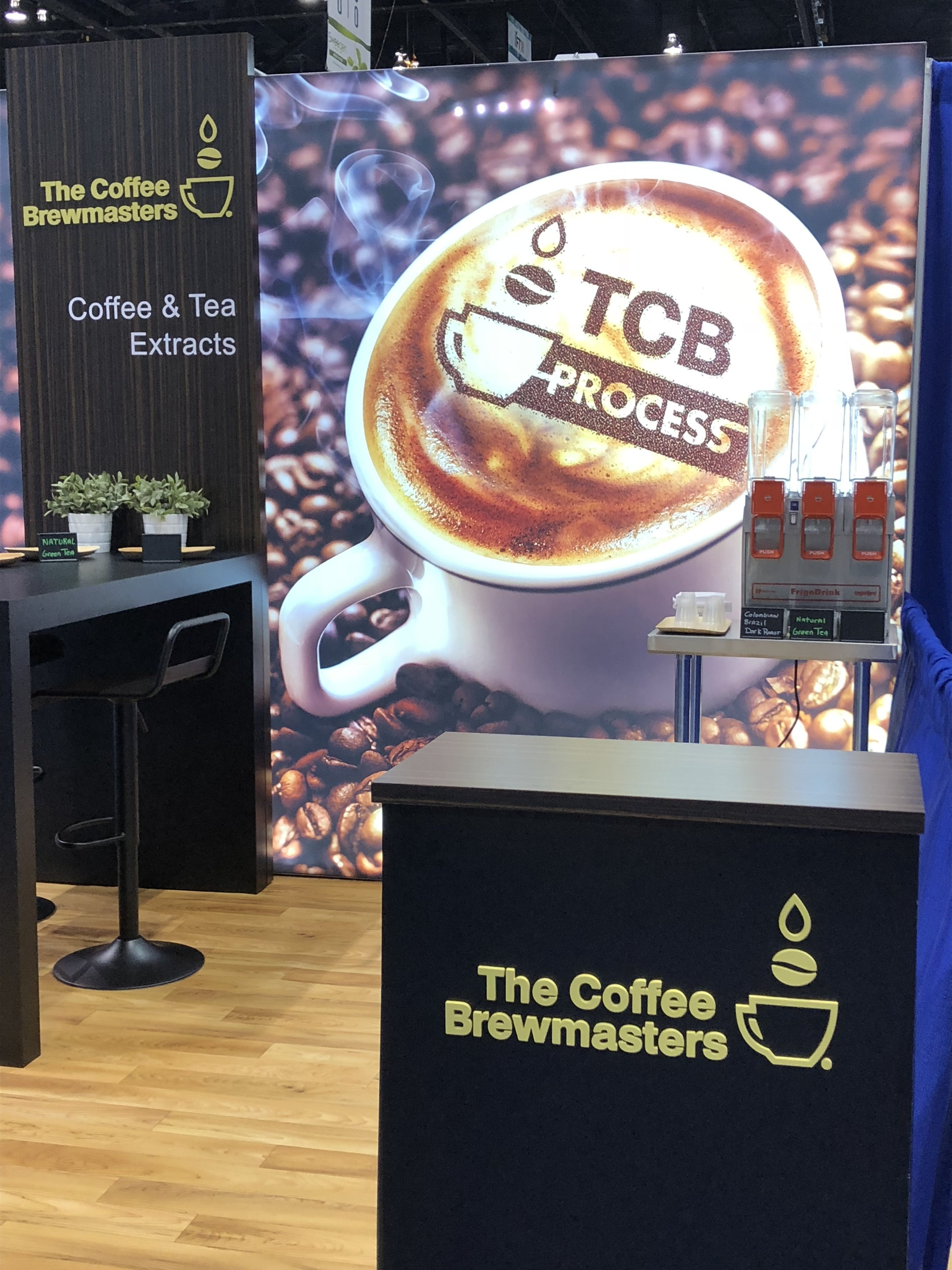 And here we are! - Hope you will stop by our booth over the coming days to try out our Coffee and Tea Extracts and to discuss your requirements.Stand N6713