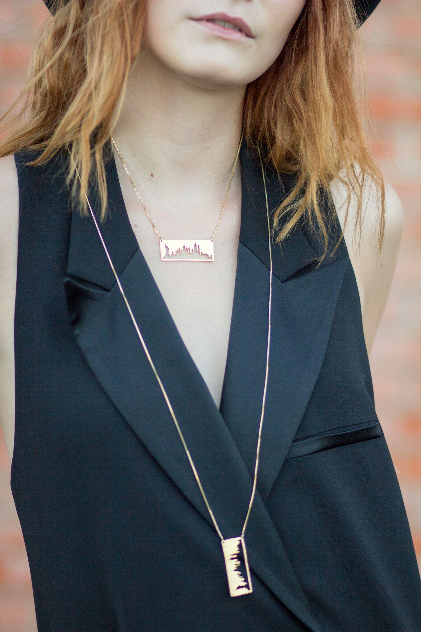 City + Sky pendants on The Gilded Bellini