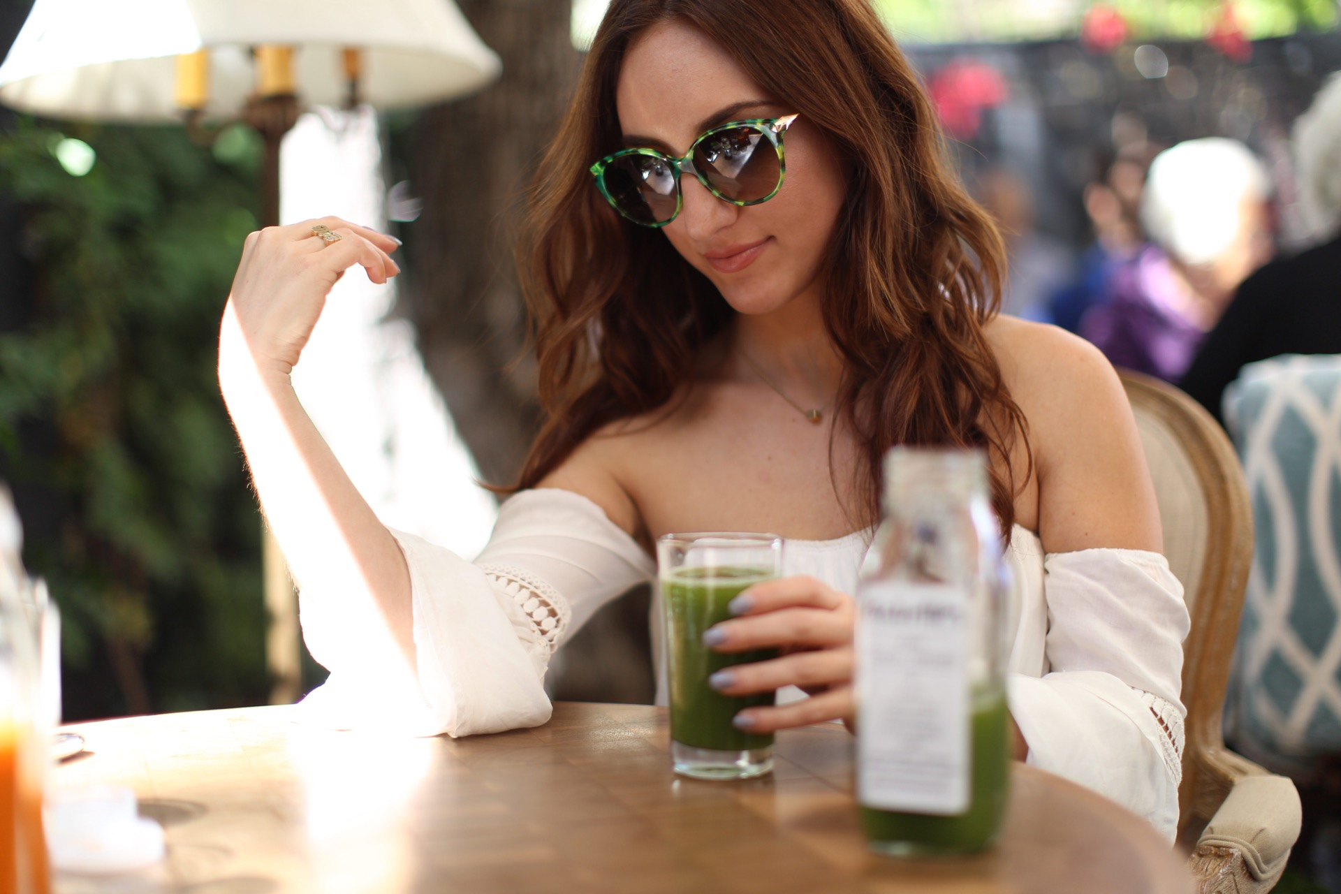 Brielle Galekovic at Babette's Newport Beach on The Gilded Bellini