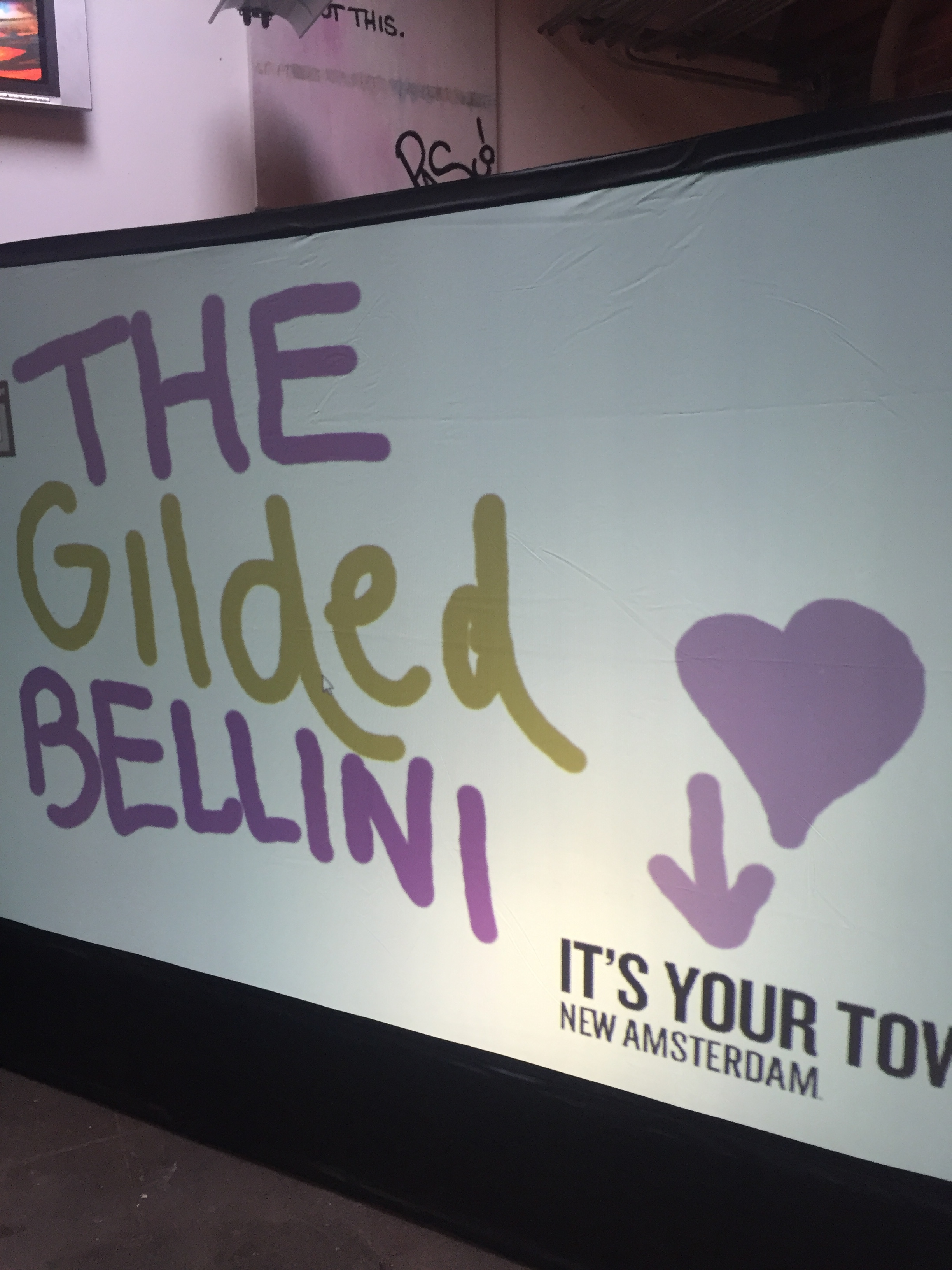 The Gilded Bellini at the New Amsterdam Vodka It's Your Town Event