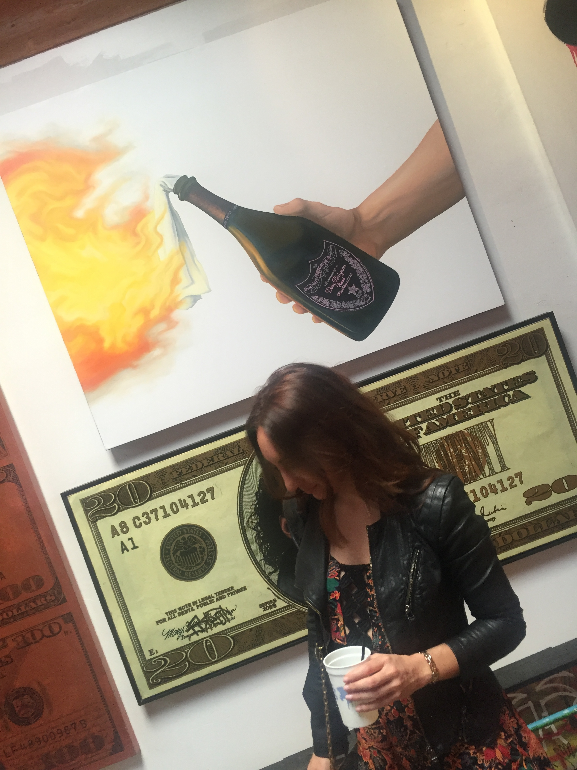 Brielle Galekovic of The Gilded Bellini at New Amsterdam Vodka It's Your Town Event