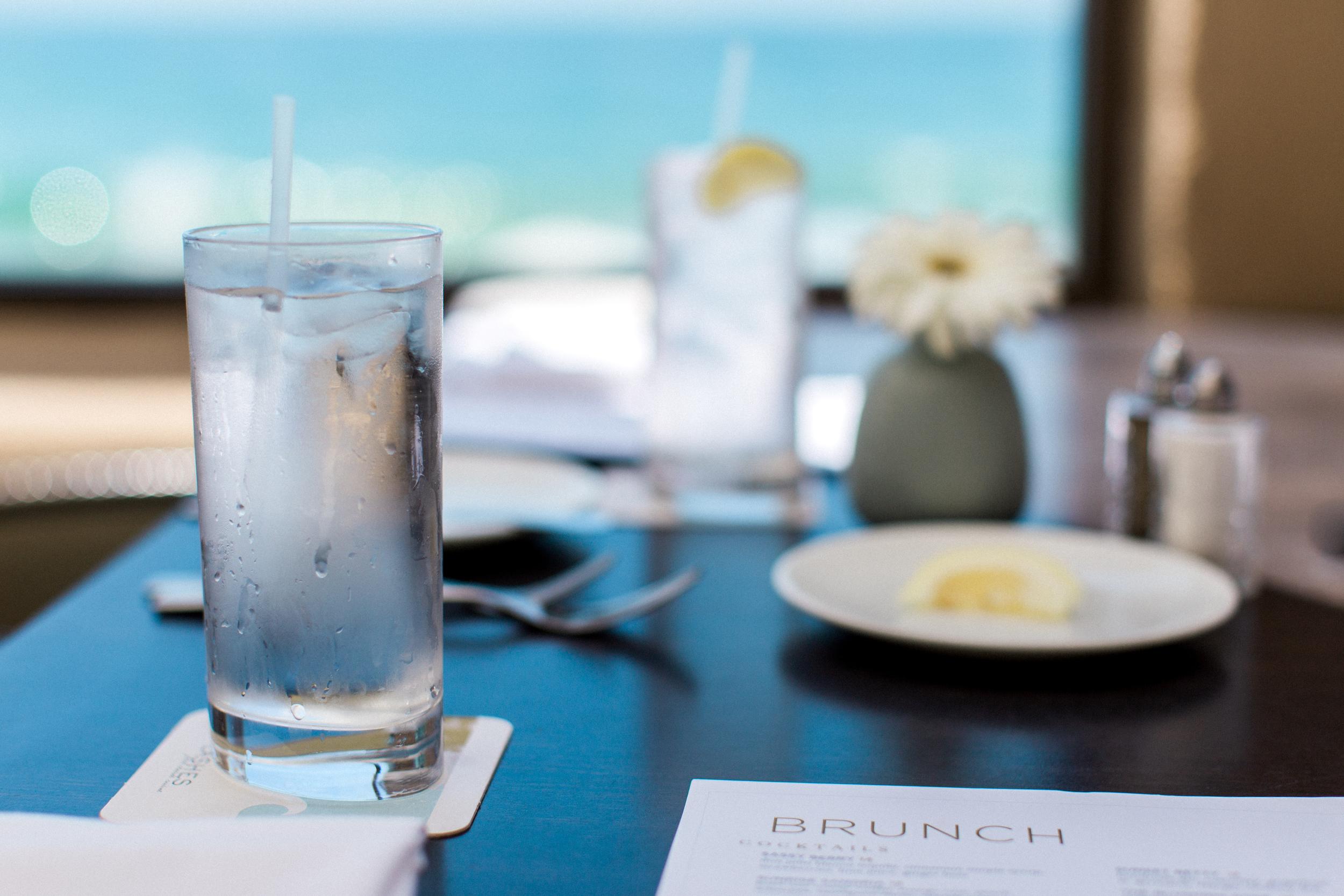Brunch Menu at Splashes at Surf & Sand Hotel