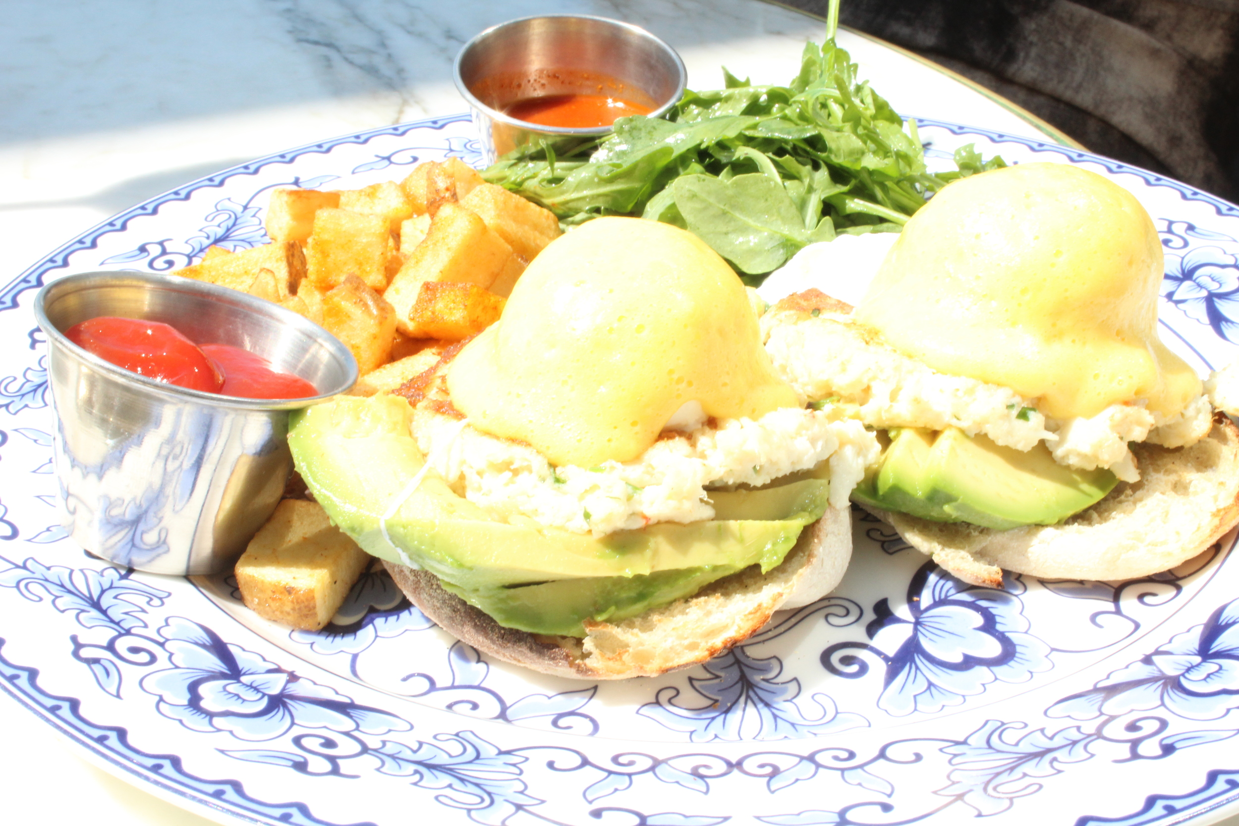Crab Benedict on Ivory on Sunset