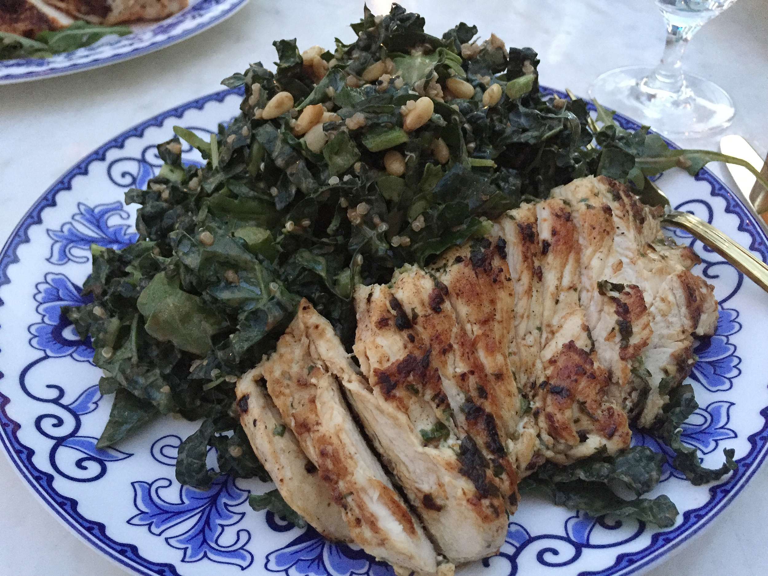 Kale Salad at Ivory on Sunset