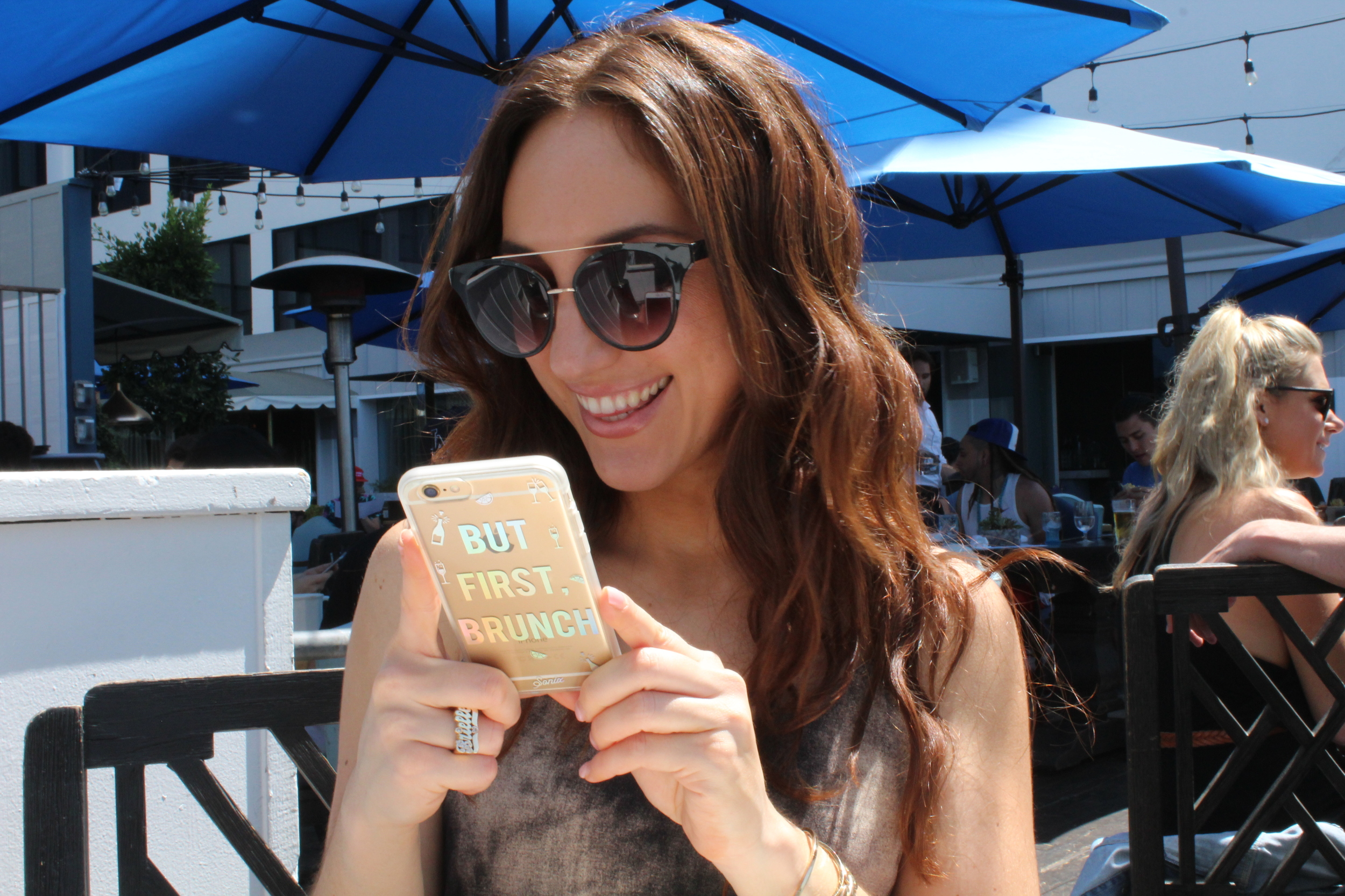 Brielle Galekovic of The Gilded Bellini at Brunch
