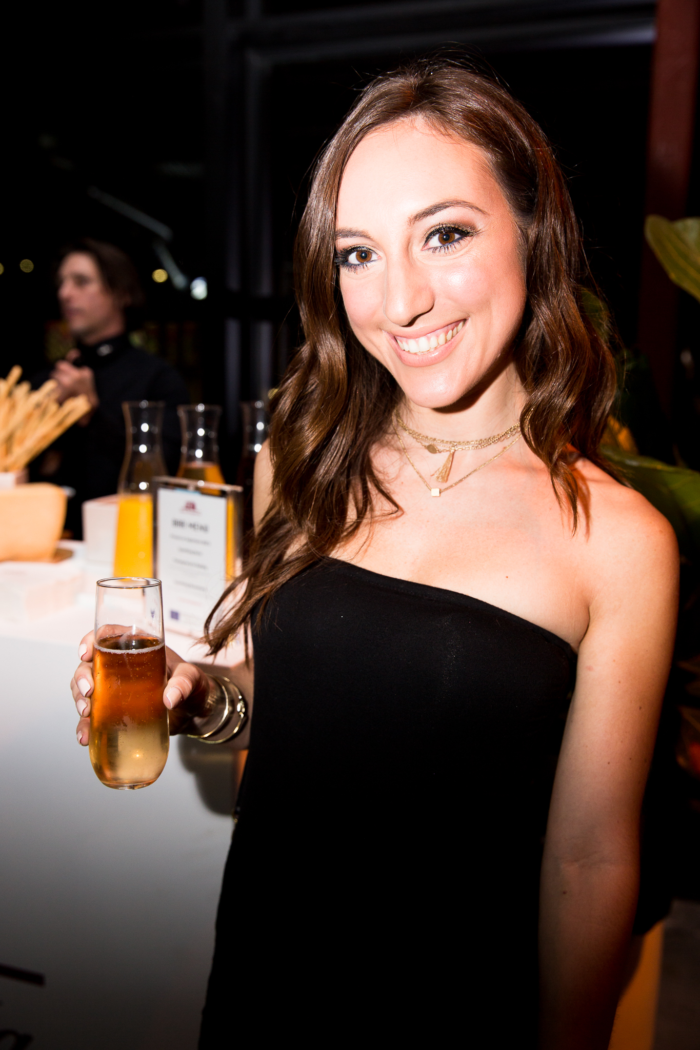 Brielle Galekovic of The Gilded Bellini at Vanity Fair Social Club Emmy's Edition