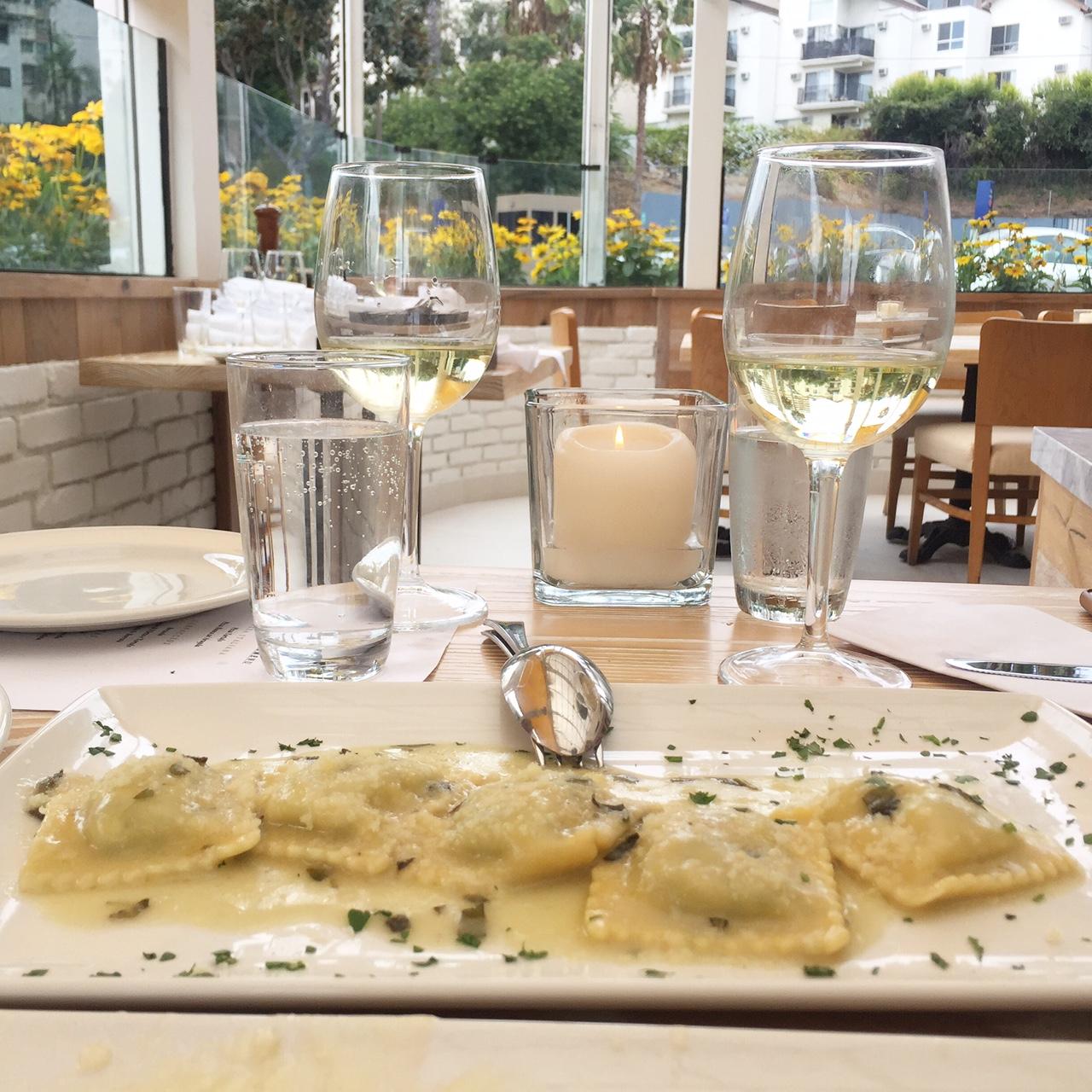 Ravioli Burro e Salvia