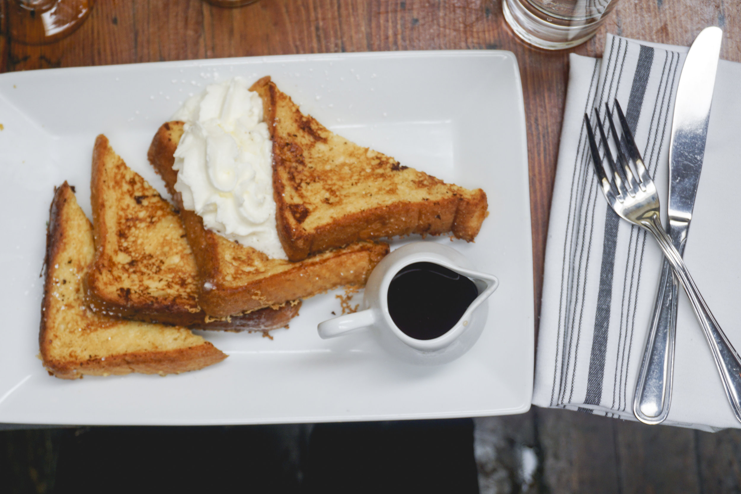 French Toast at The Hudson LA