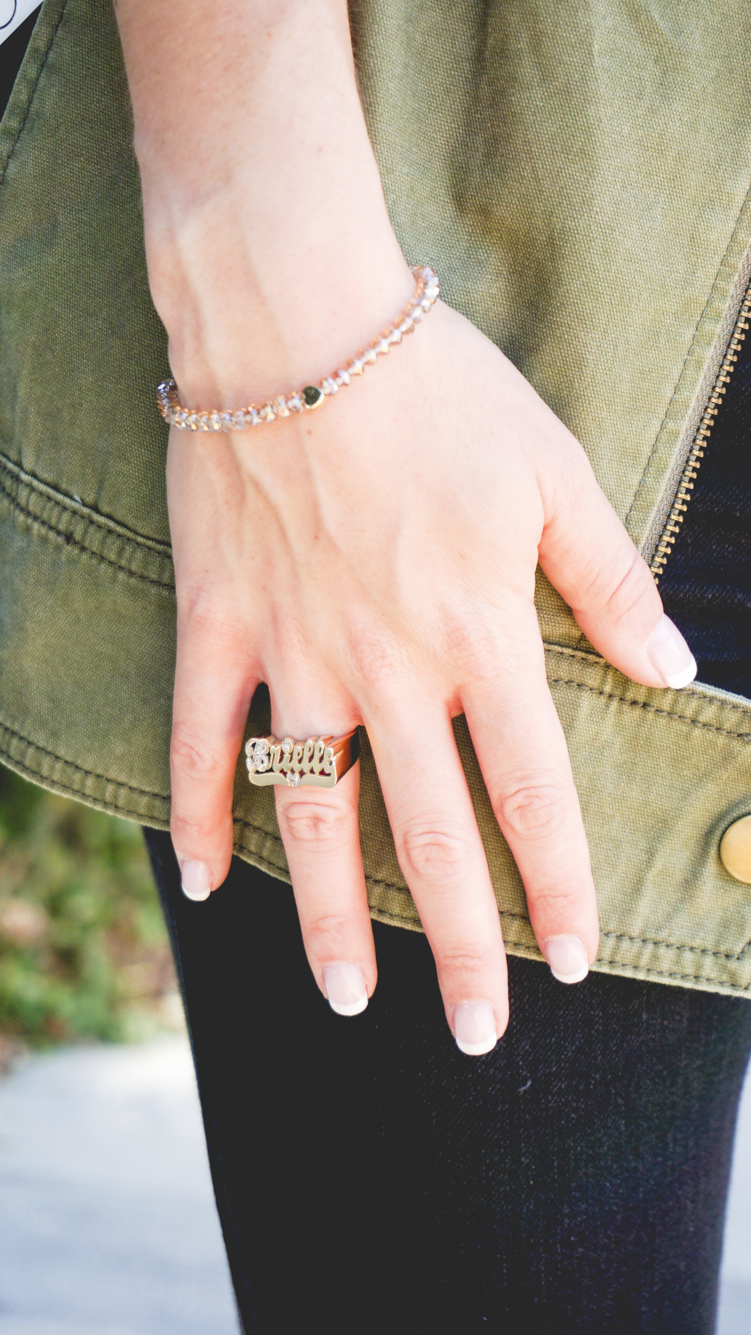 For Keyps Goldtone Bracelet on The Gilded Bellini