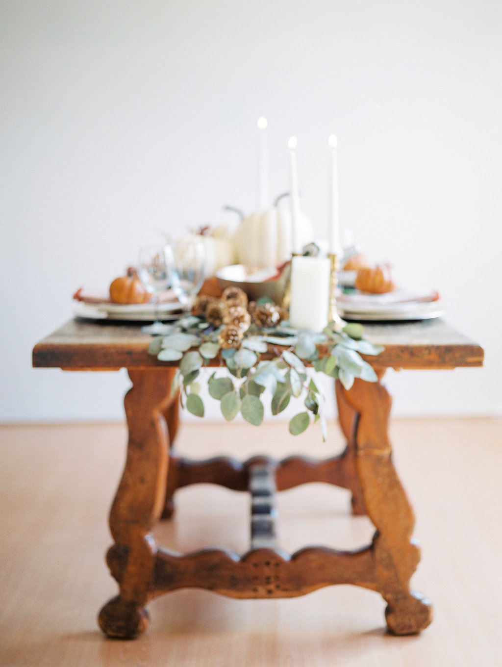 Thanksgiving table on The Gilded Bellini