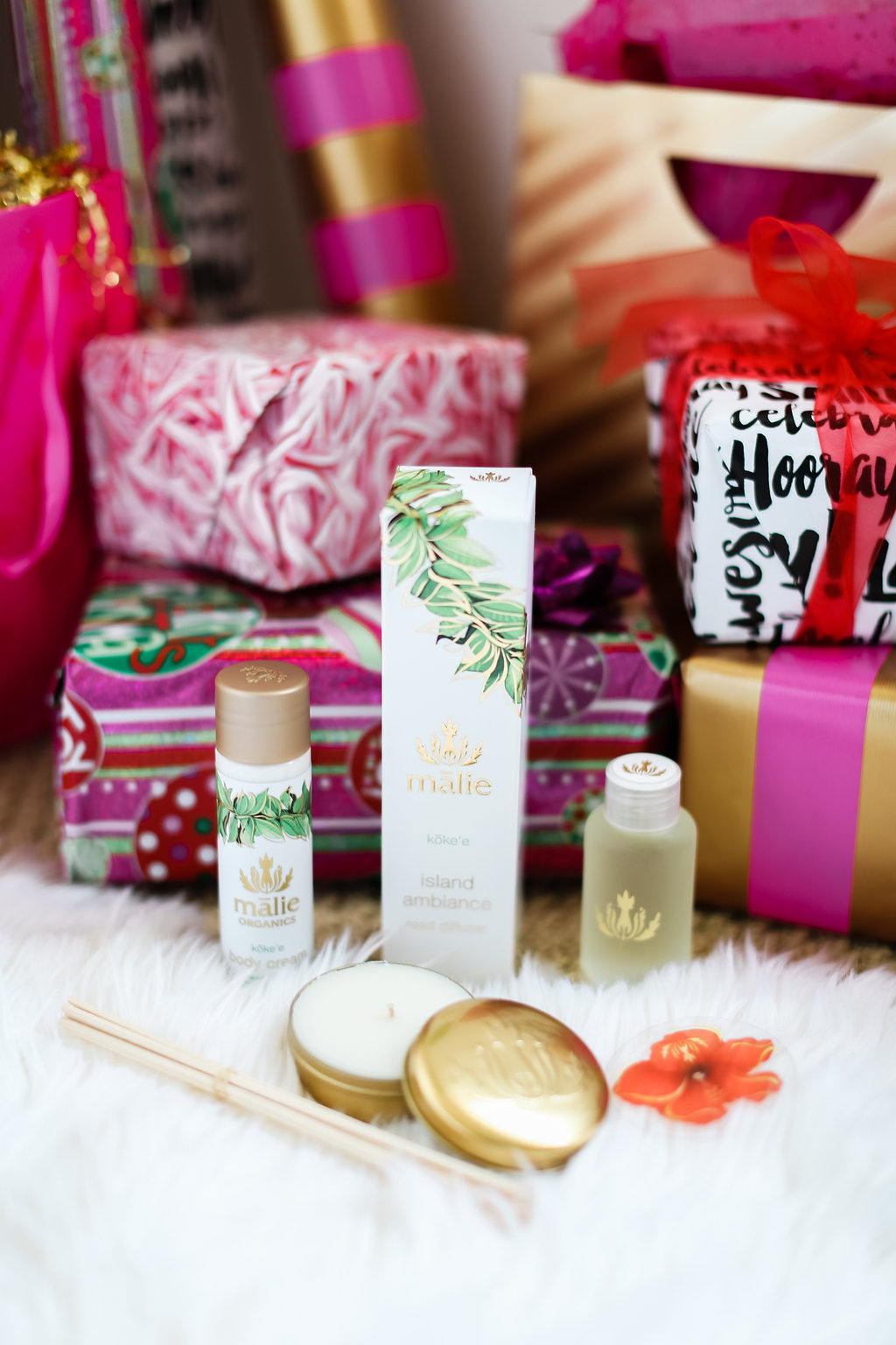 Malie Organics on The Gilded Bellini Holiday Gift Guide