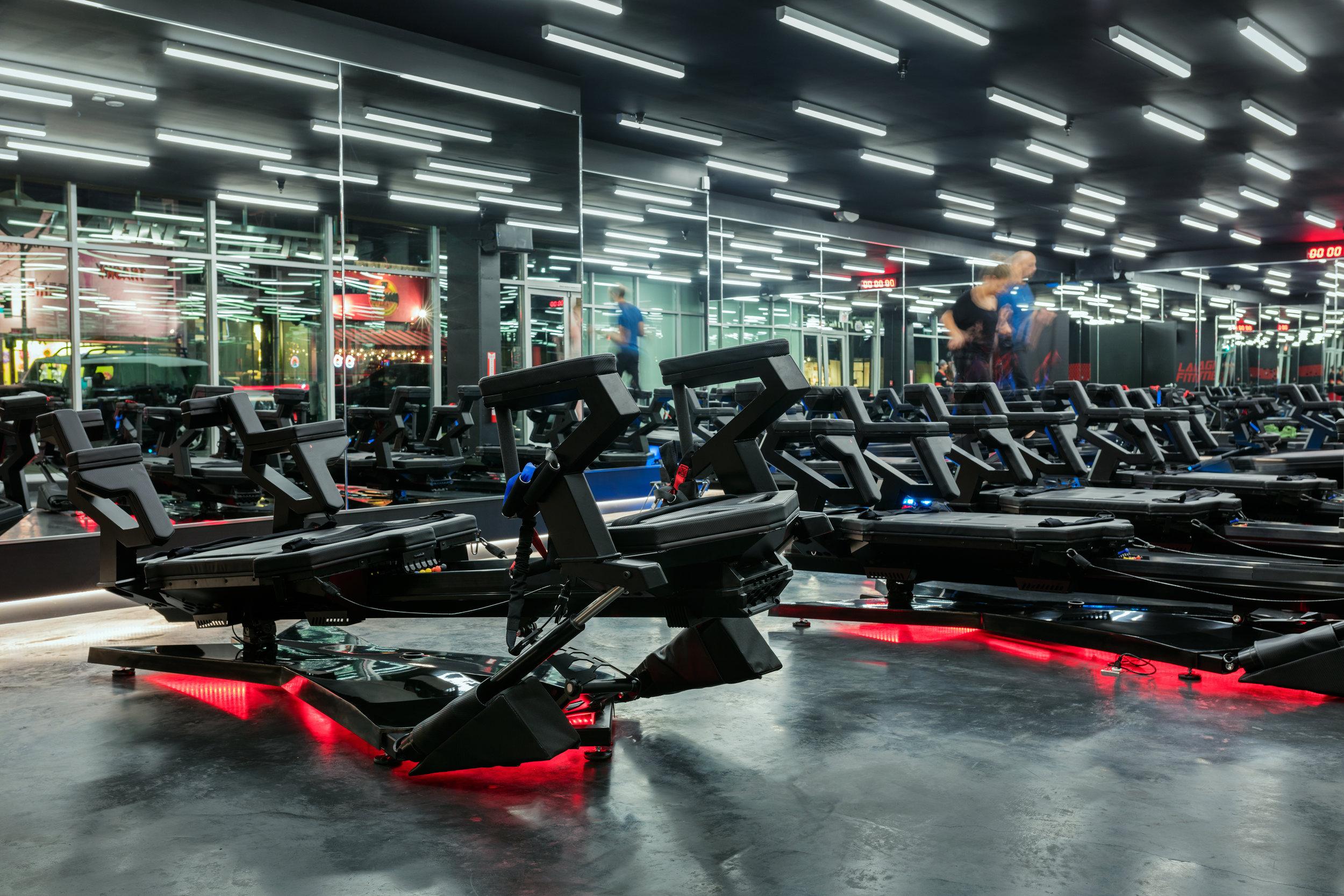 Supraformer at Lagree Fitness Studio - The Gilded Bellini