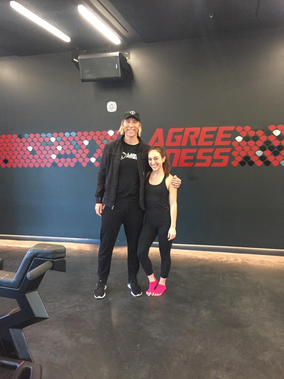 Brielle Galekovic and Sebastien Lagree