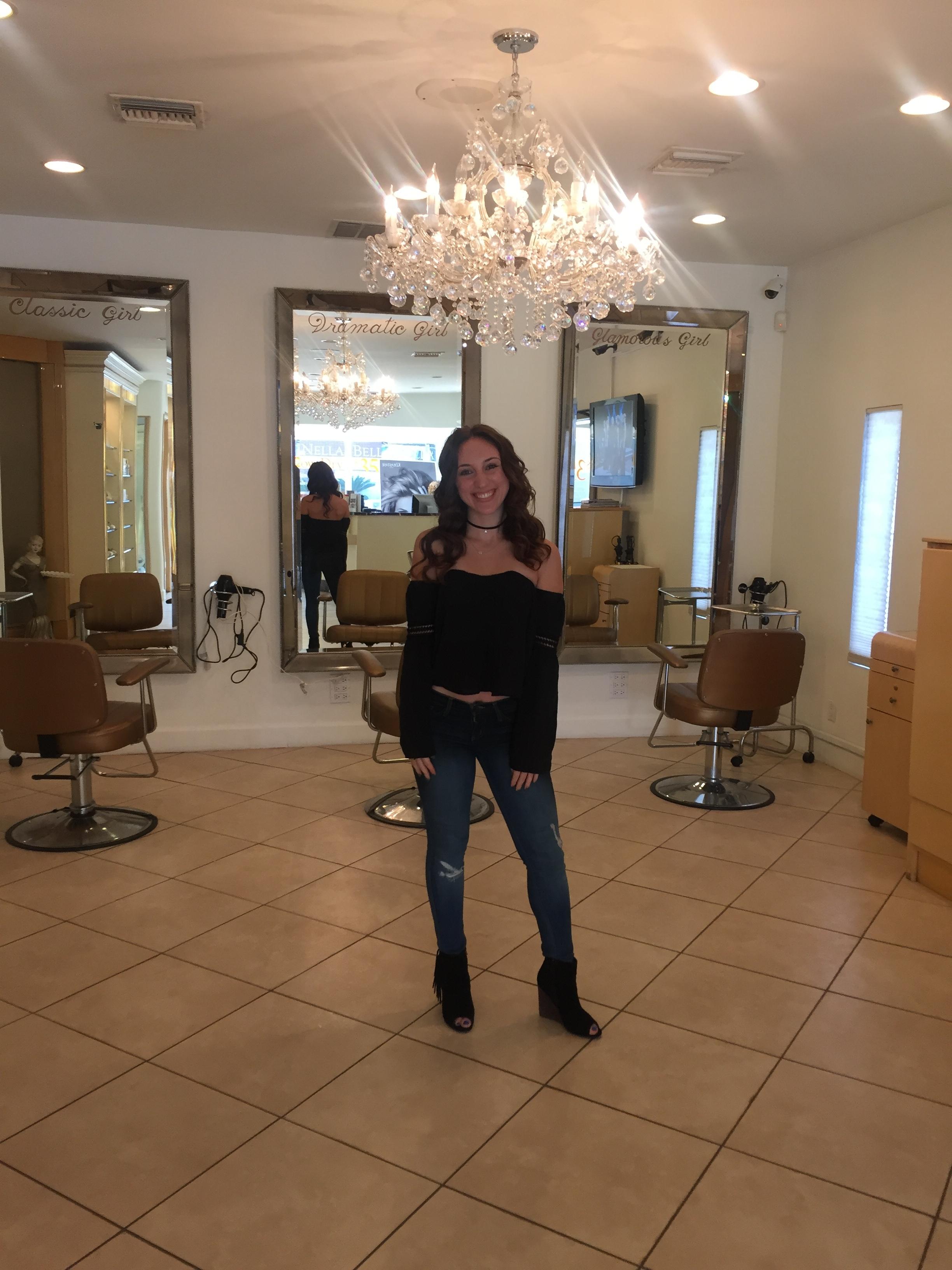 The Gilded Bellini at Bella Nella Salon