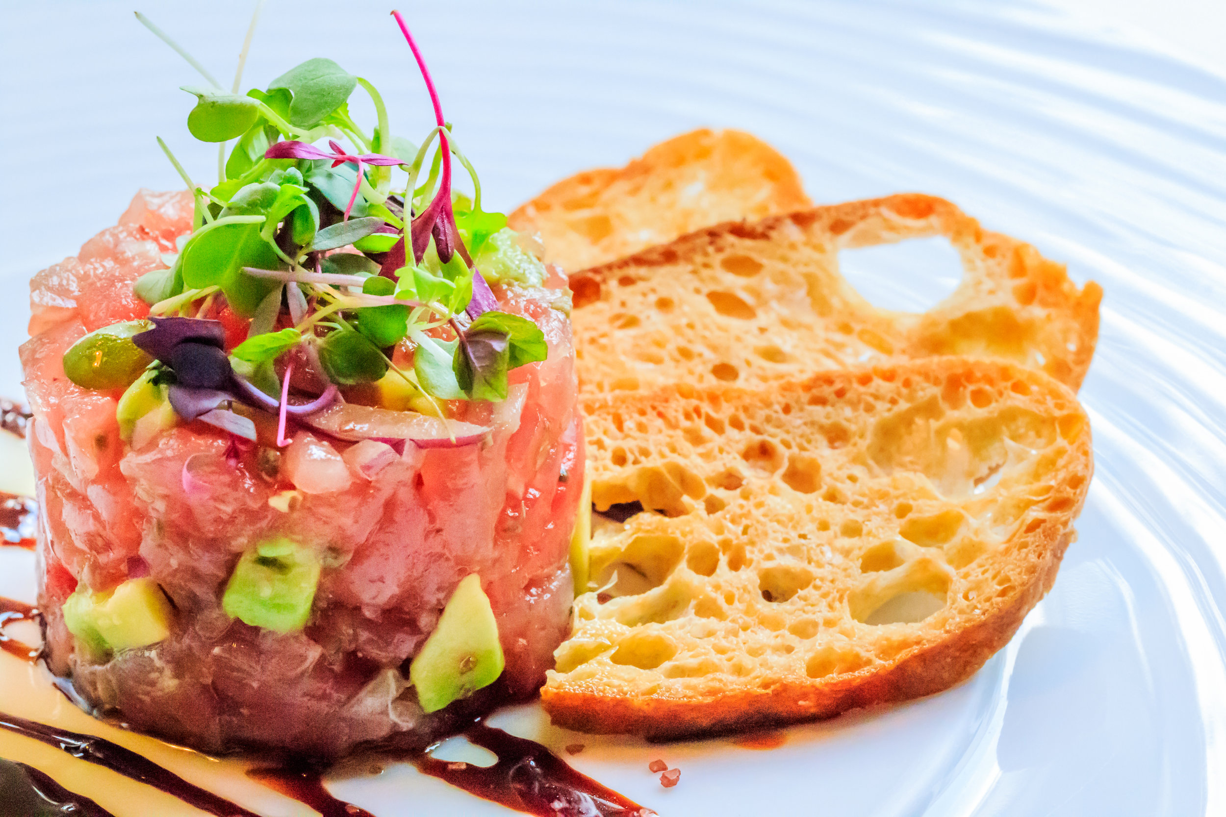 Tartara di Tonno at Barrique in Venice Beach c/o Reserve