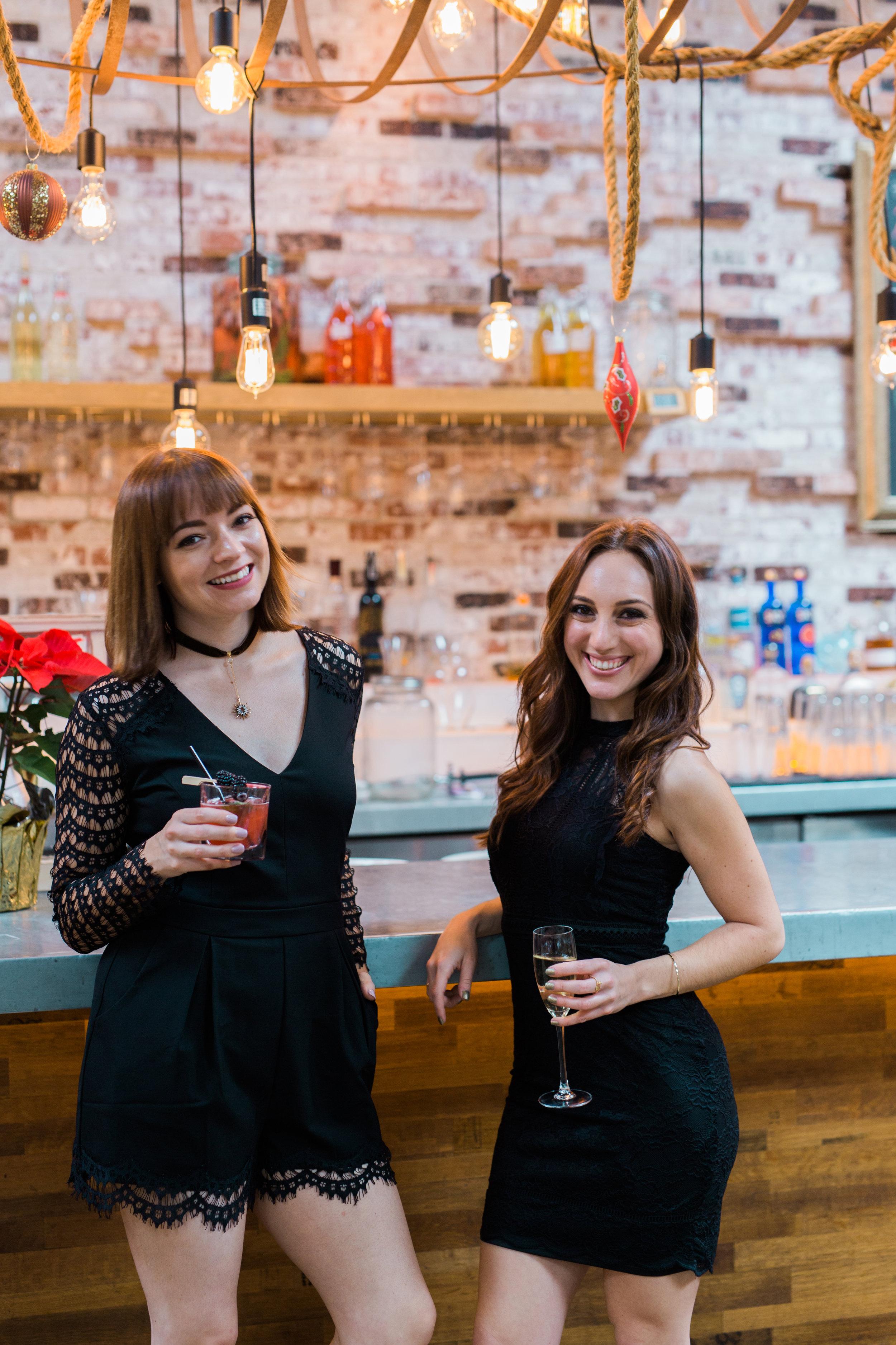 Brielle Galekovic and Sophie Mae at Herringbone La Jolla