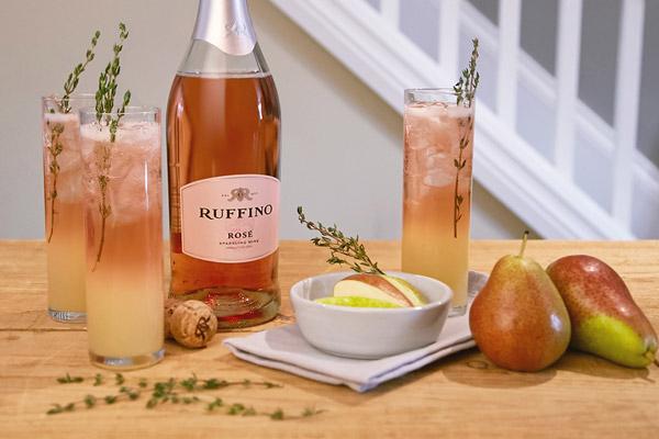 Heart Throb with Ruffino Wine