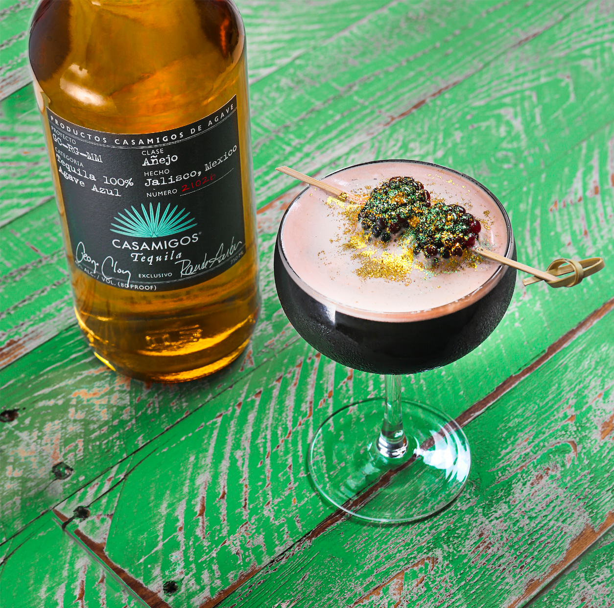 The Saint Casa Cocktail with Casamigos Tequila