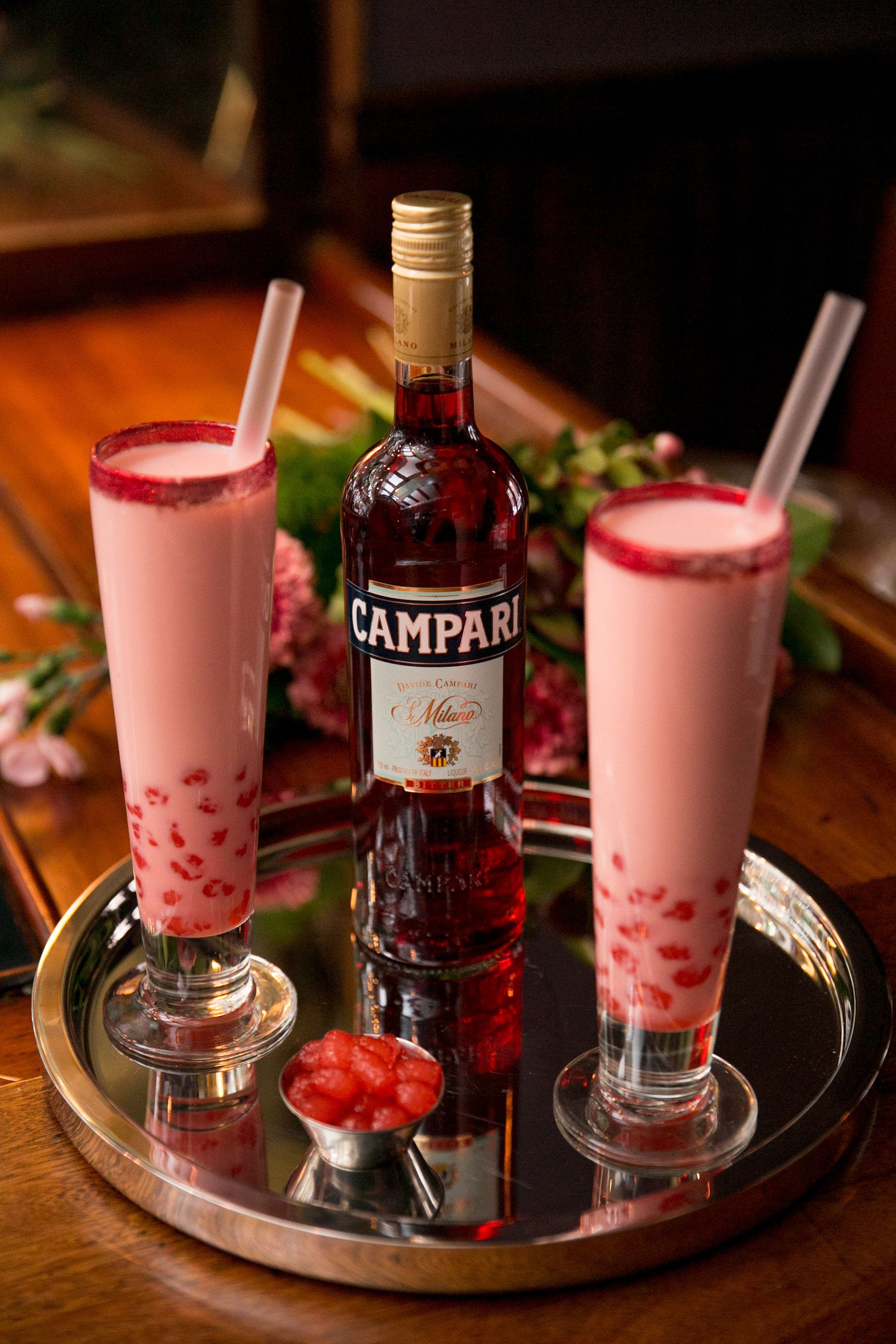 Campari-Infused Tapioca Boba