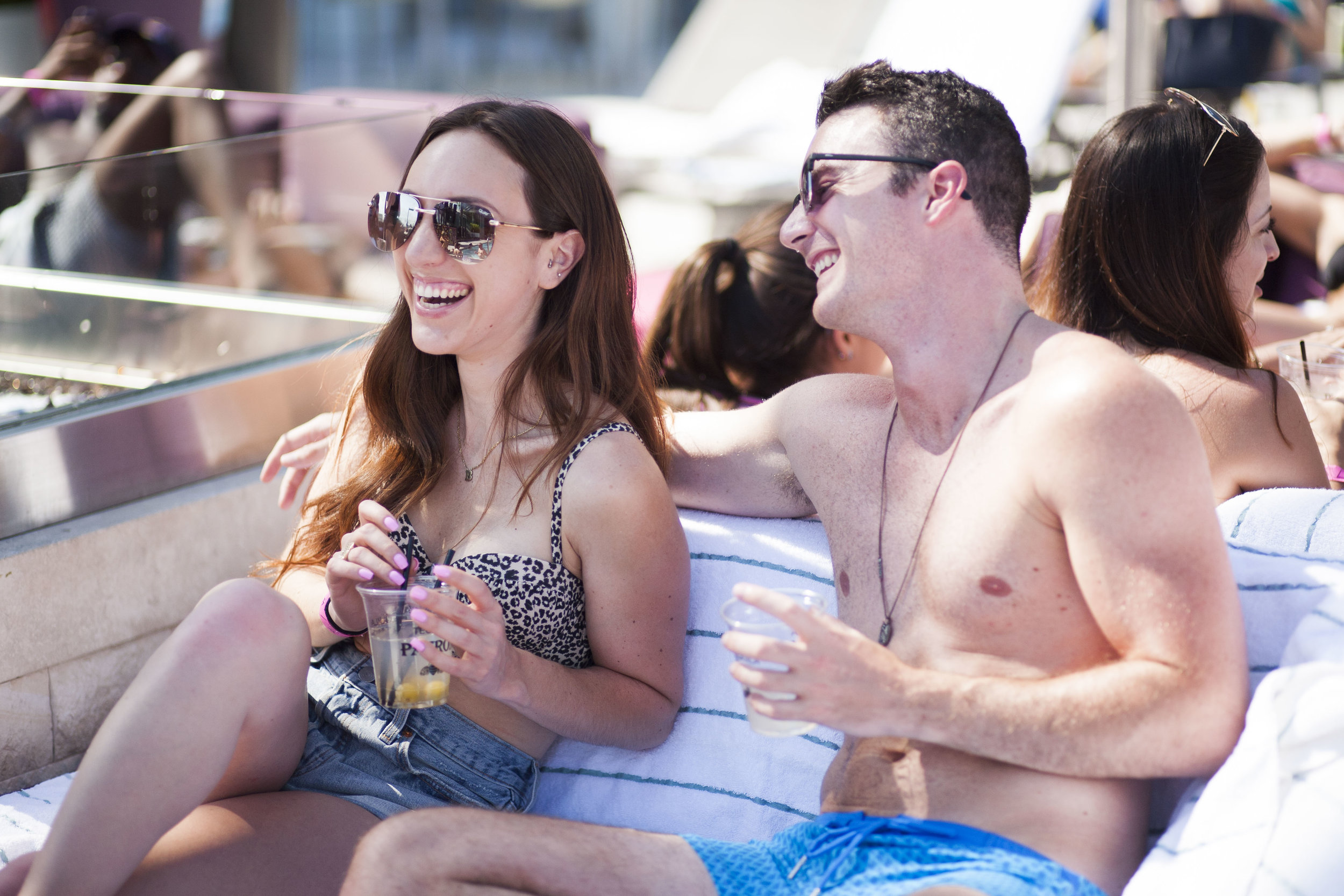Brielle Galekovic and Kyle Langan - The Gilded Bellini - Hamptons to Hollywood