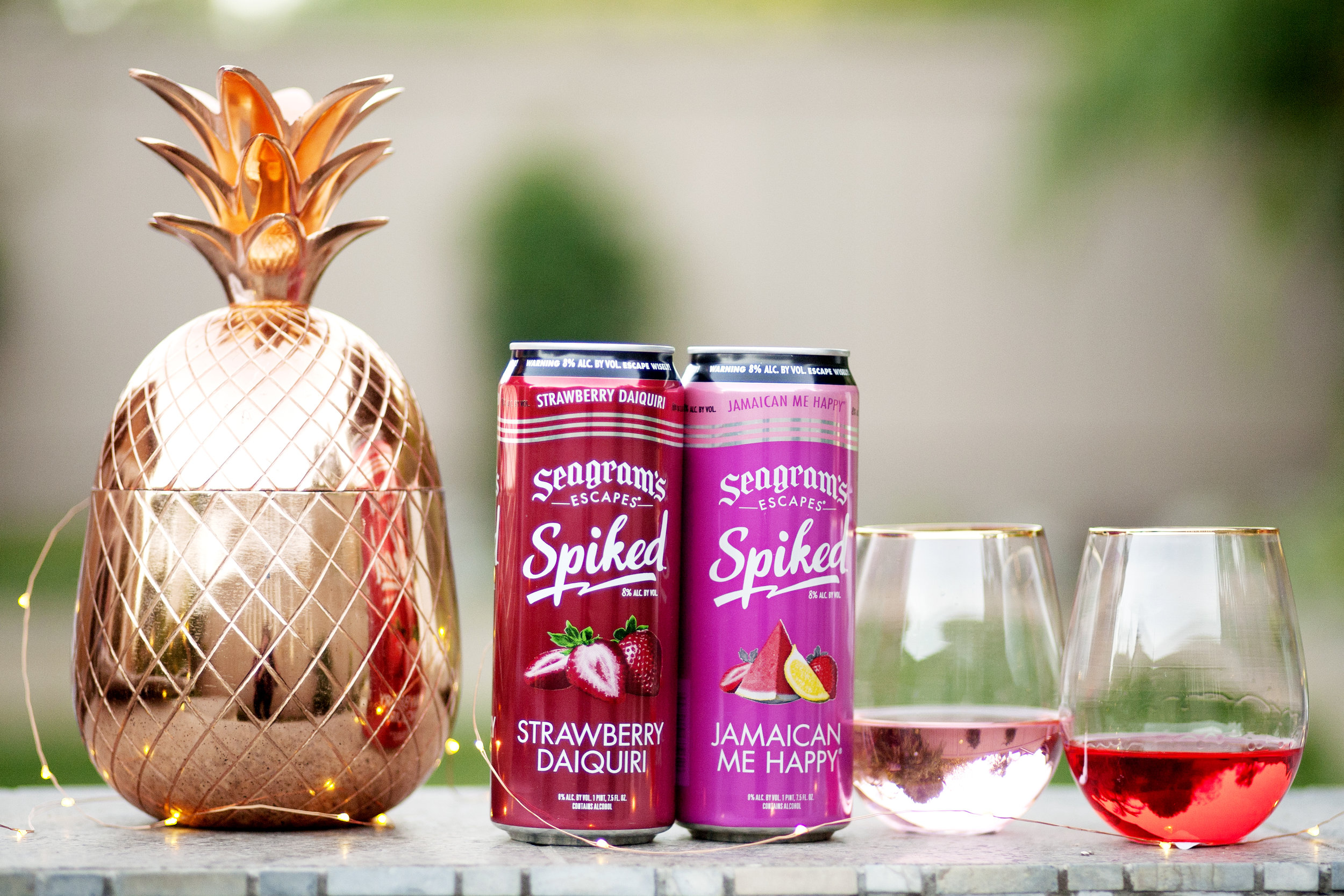 Seagram's Escapes Spiked on The Gilded Bellini
