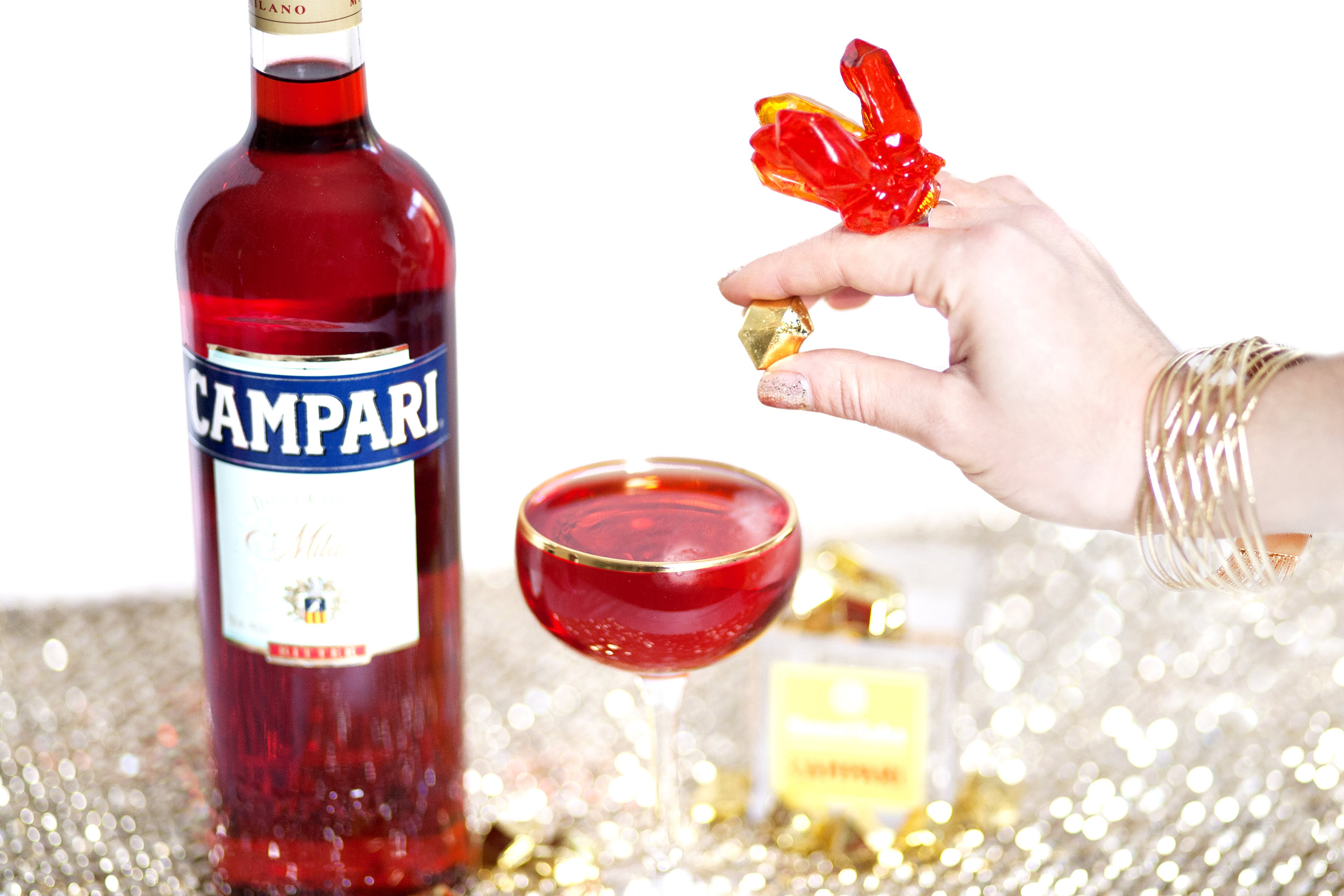 Cocktail Bling - Campari