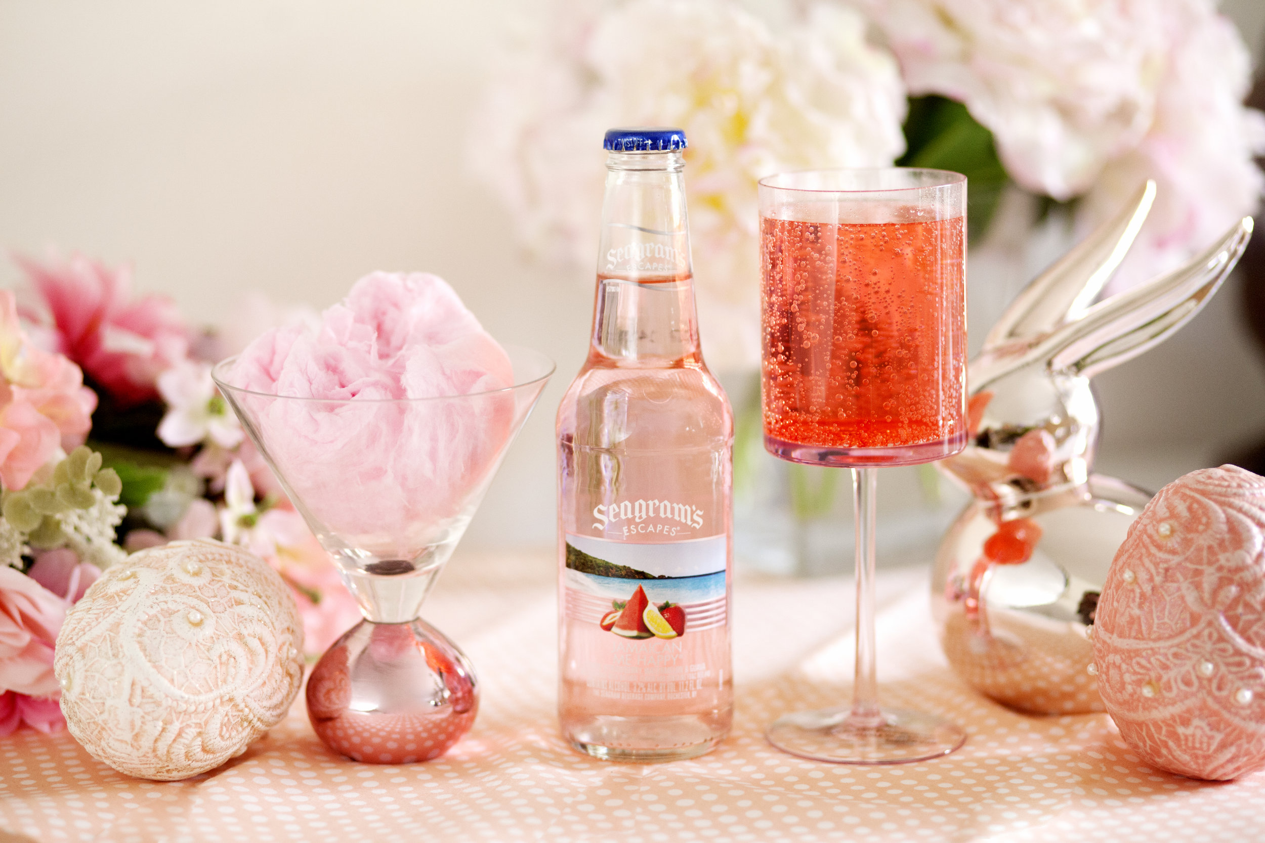 Jamaican Me Happy Seagram's Escapes Easter Cocktail - The Gilded Bellini