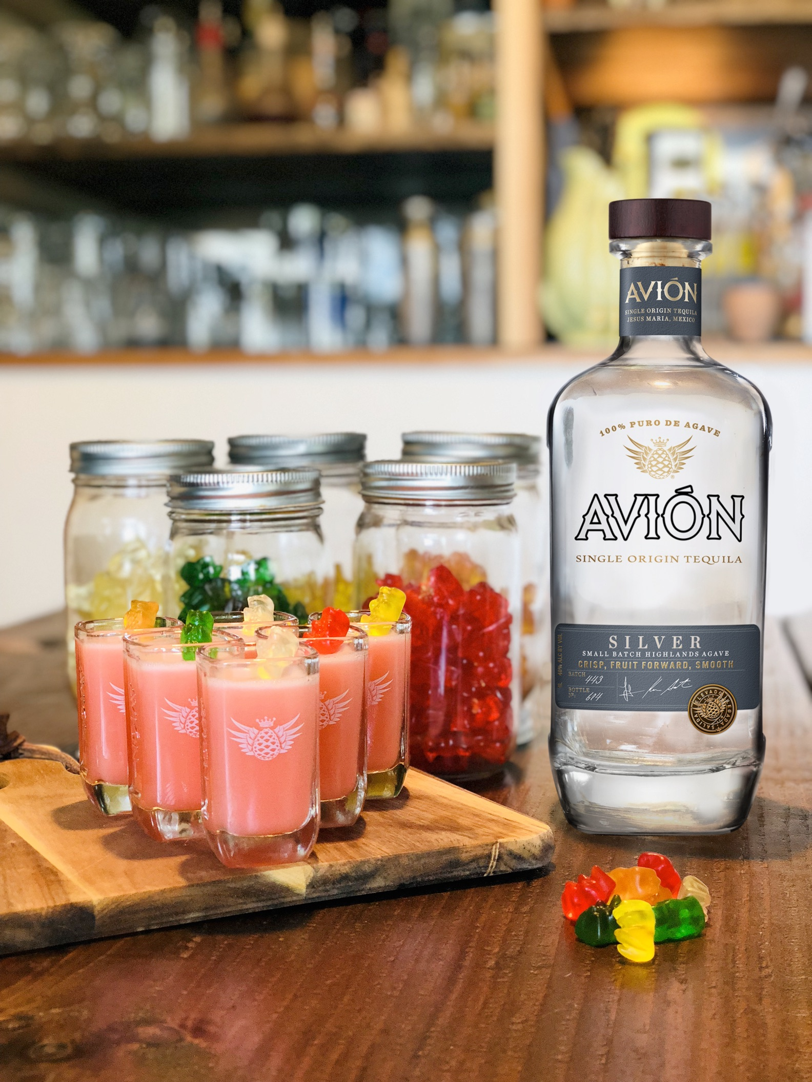 Avion Gummy Bear Shots