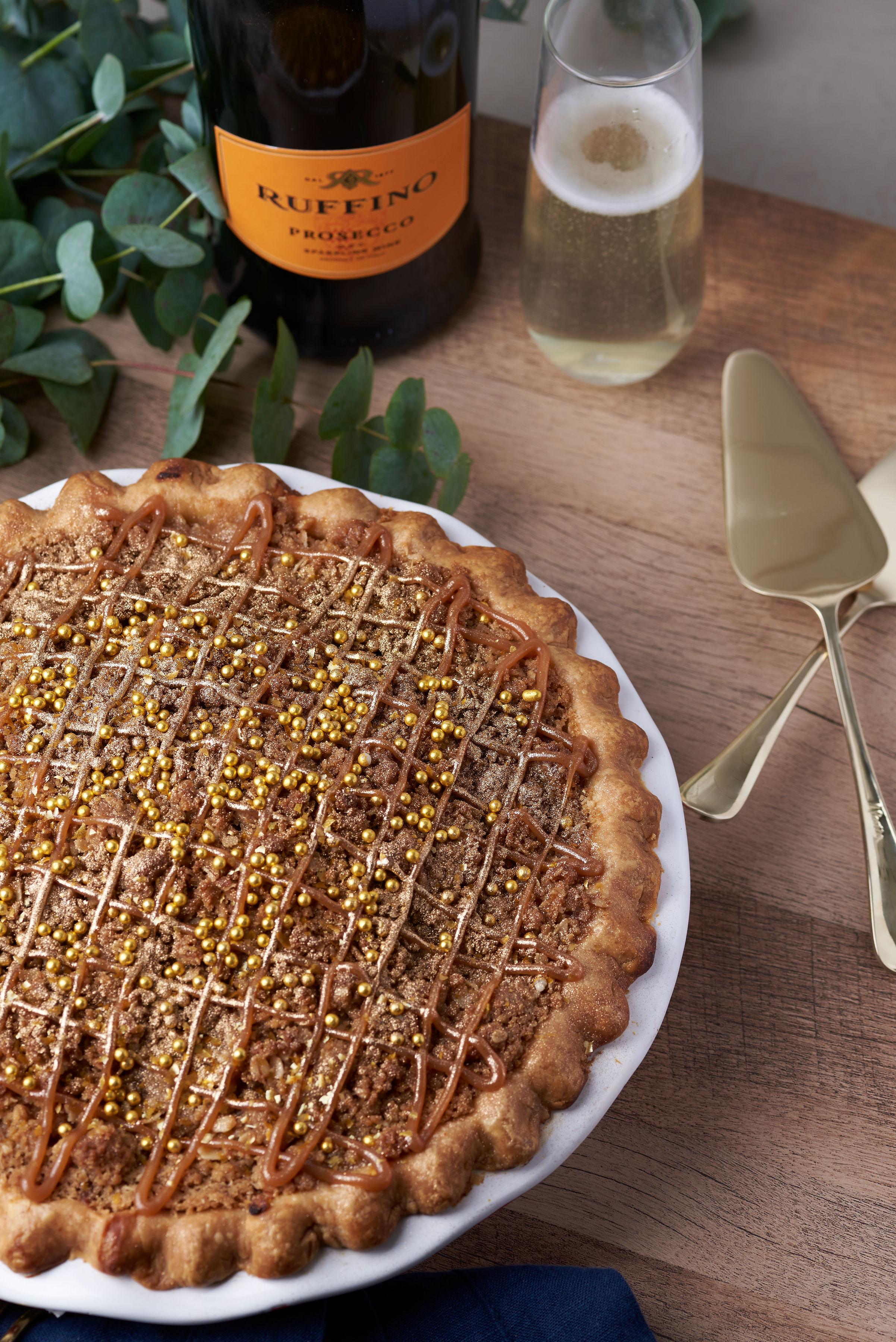 RUFFINO Salted Caramel Prosecco Pie