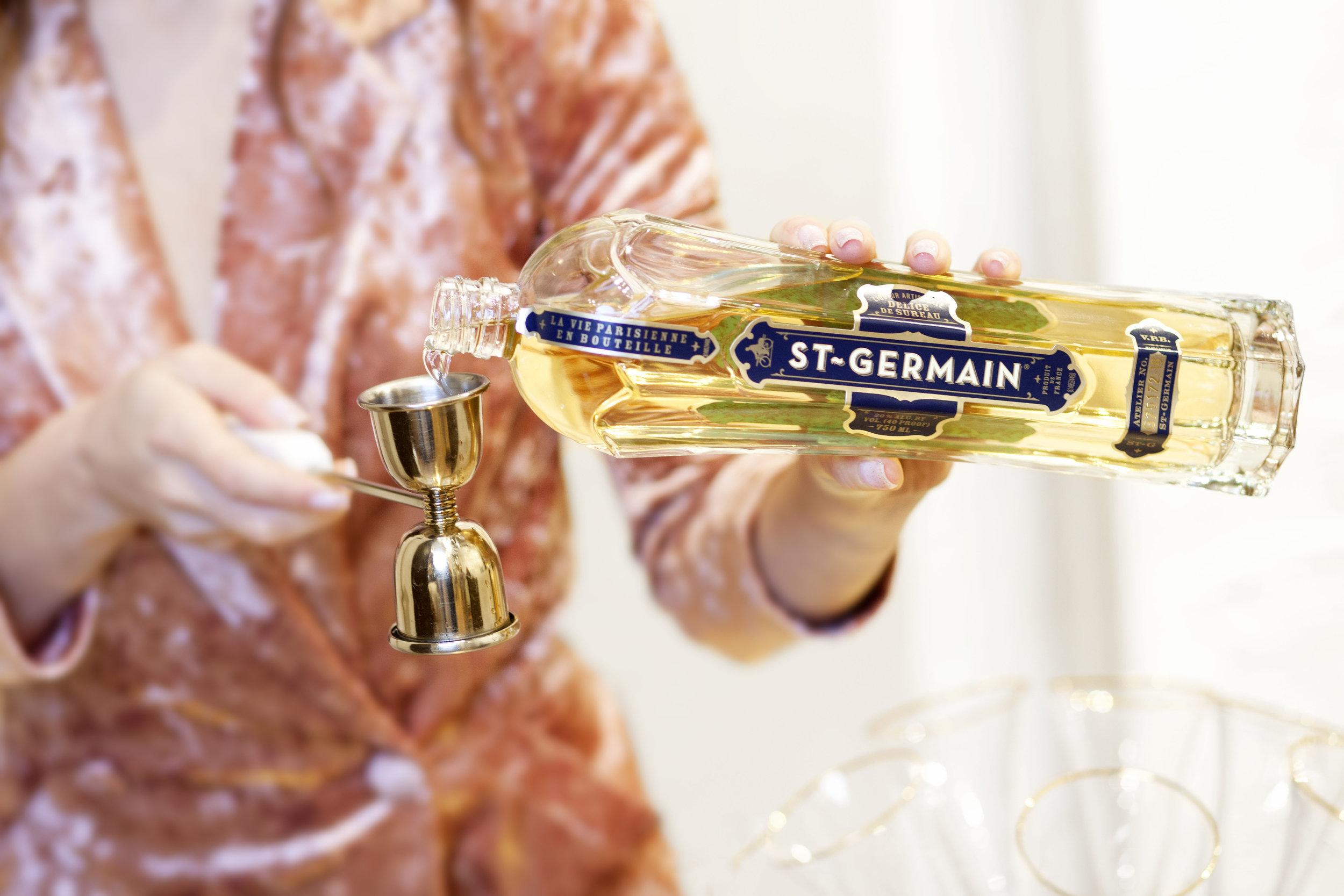 St. Germain in the Victoria Shaker - The Z Bellini