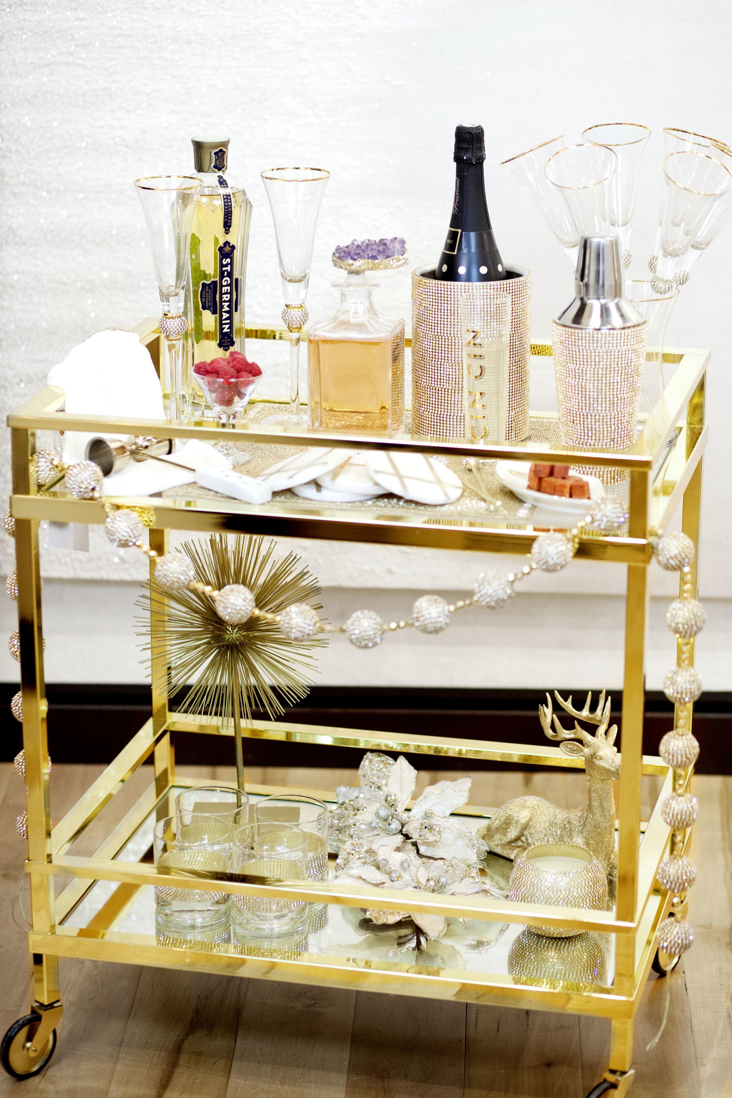Winslow Bar Cart at Z Gallerie