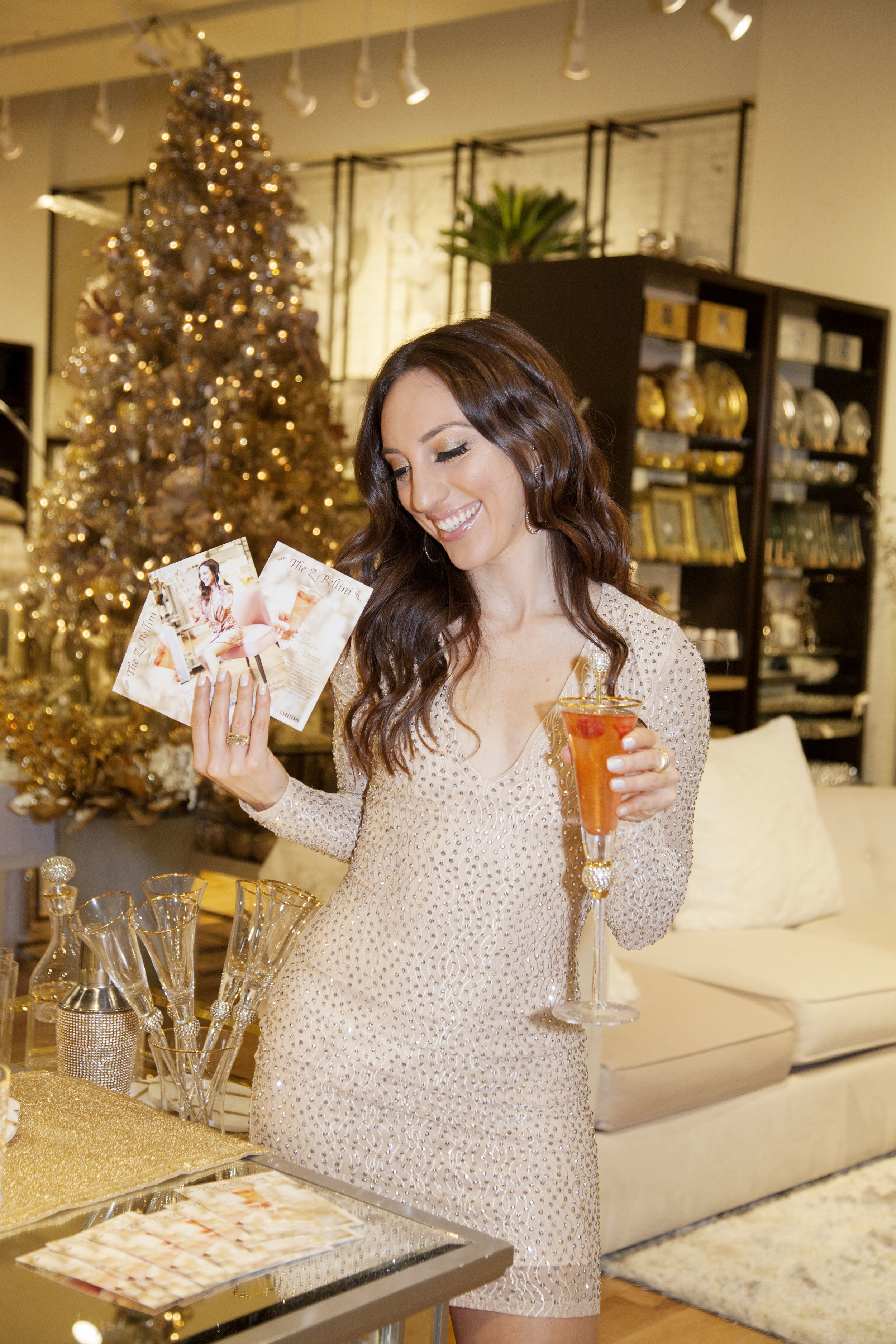 Brielle Galekovic of The Gilded Bellini at Z Gallerie