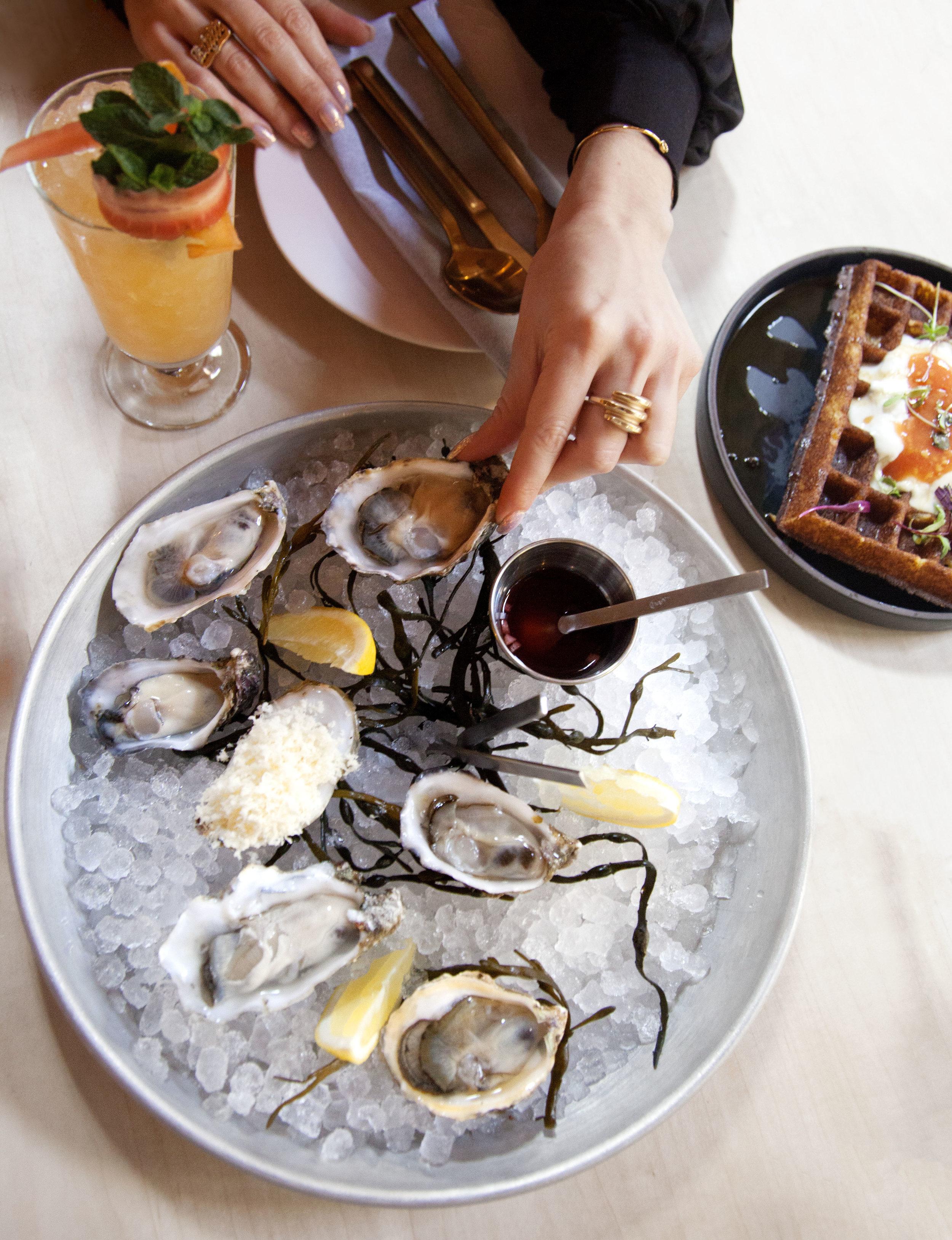 Six Oysters - Atrium Los Feliz