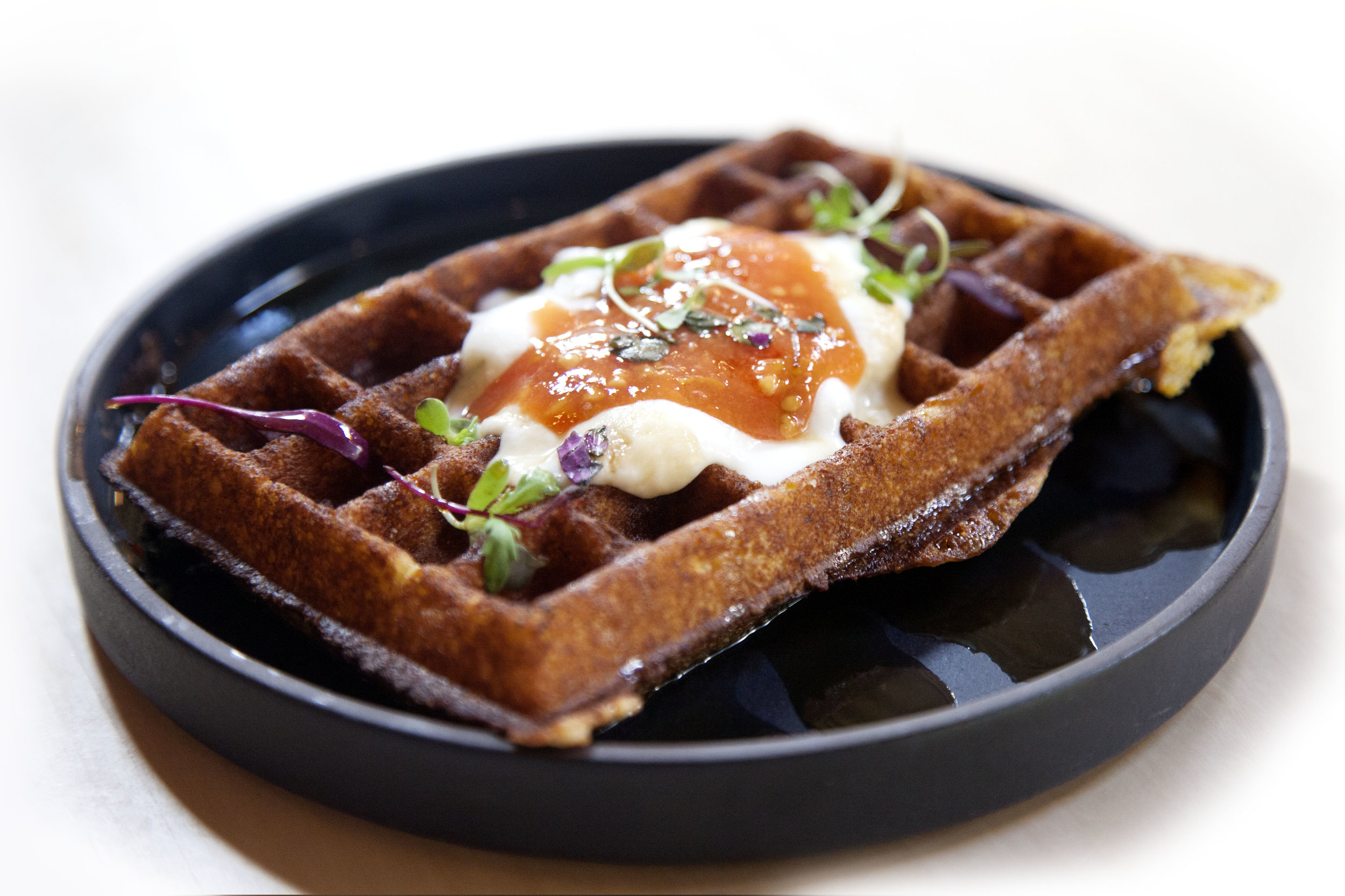 Heirloom Cornmeal Waffle