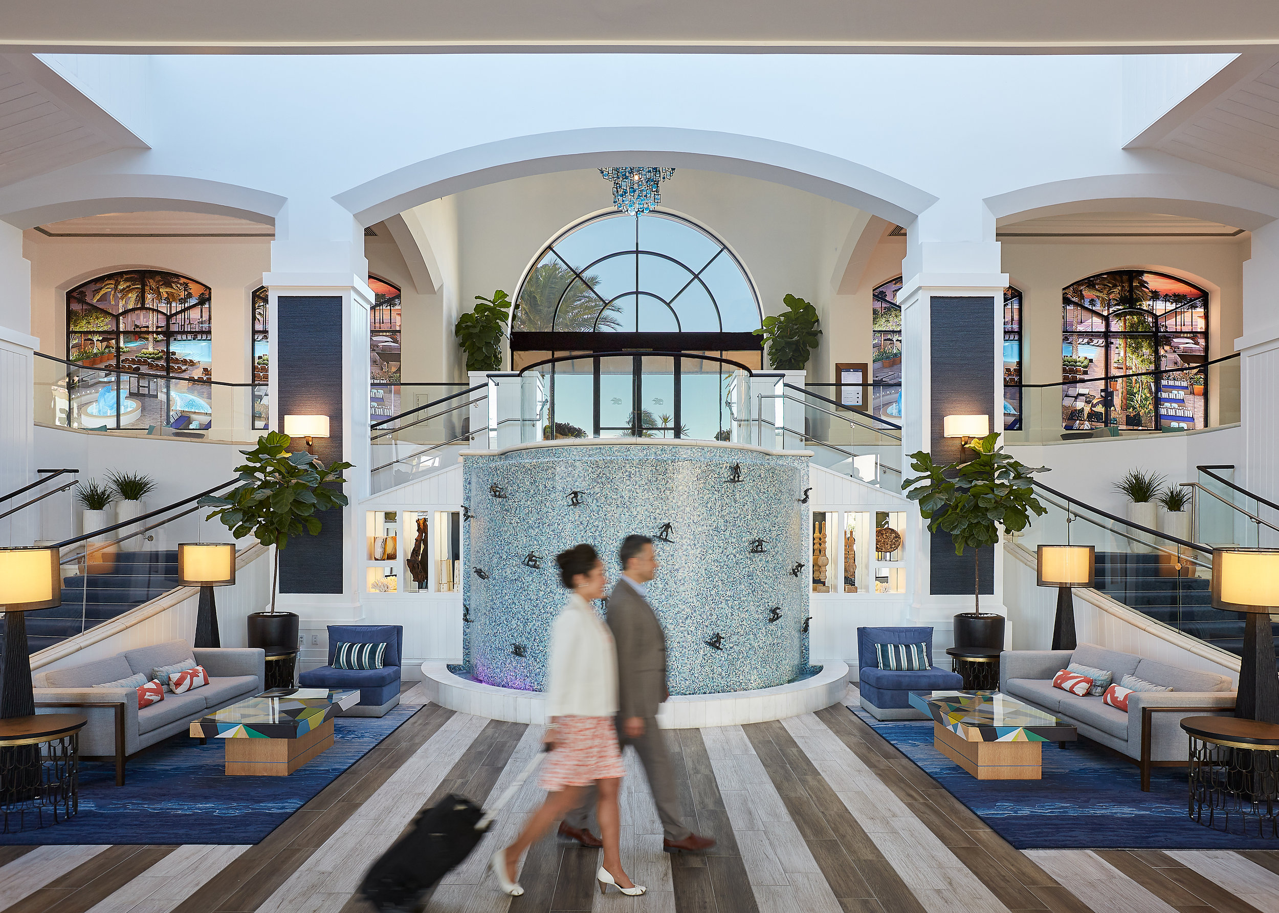 The Waterfront Beach Resort Lobby